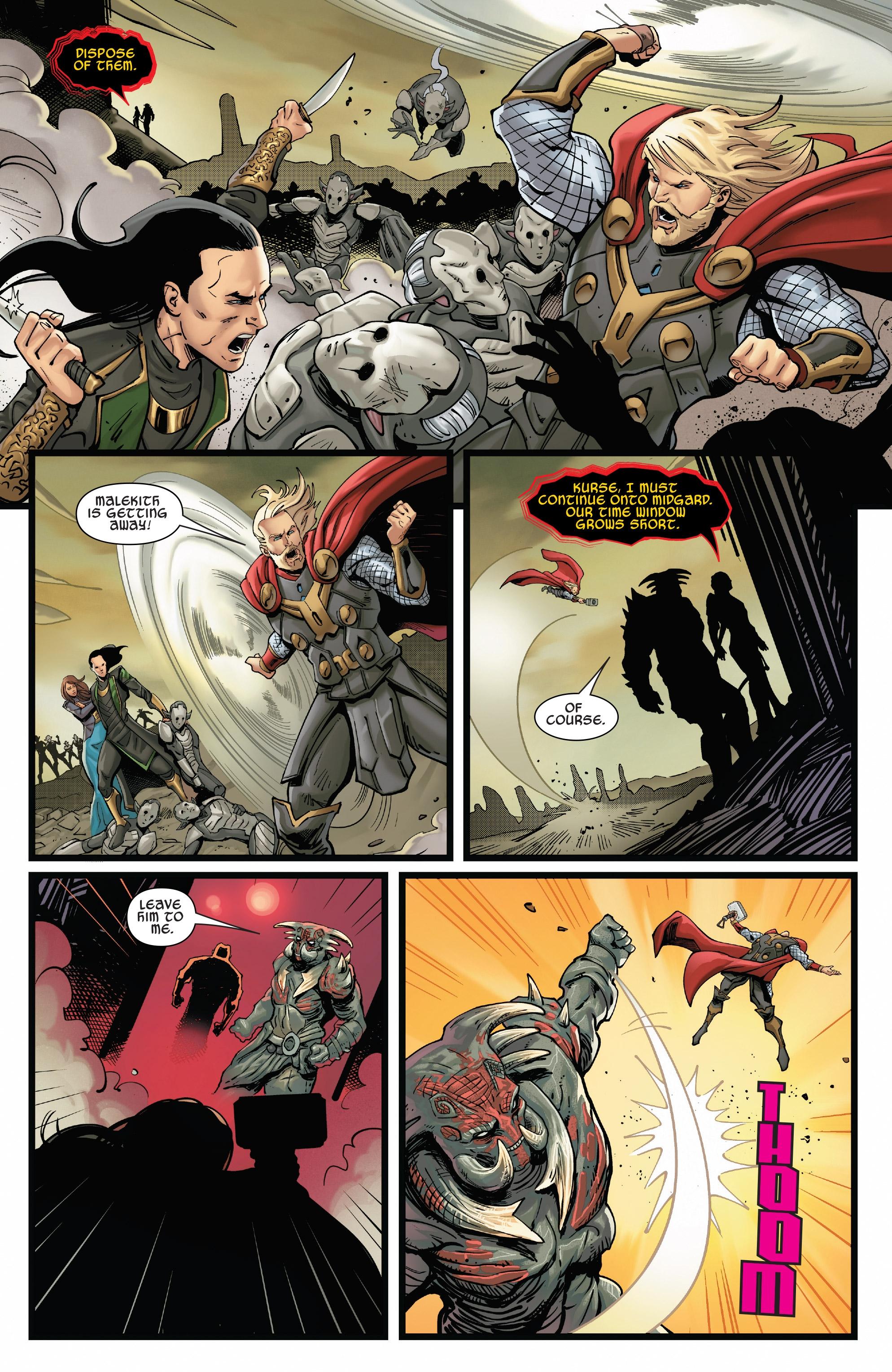 Marvel Thor Ragnarok 4 Sheets