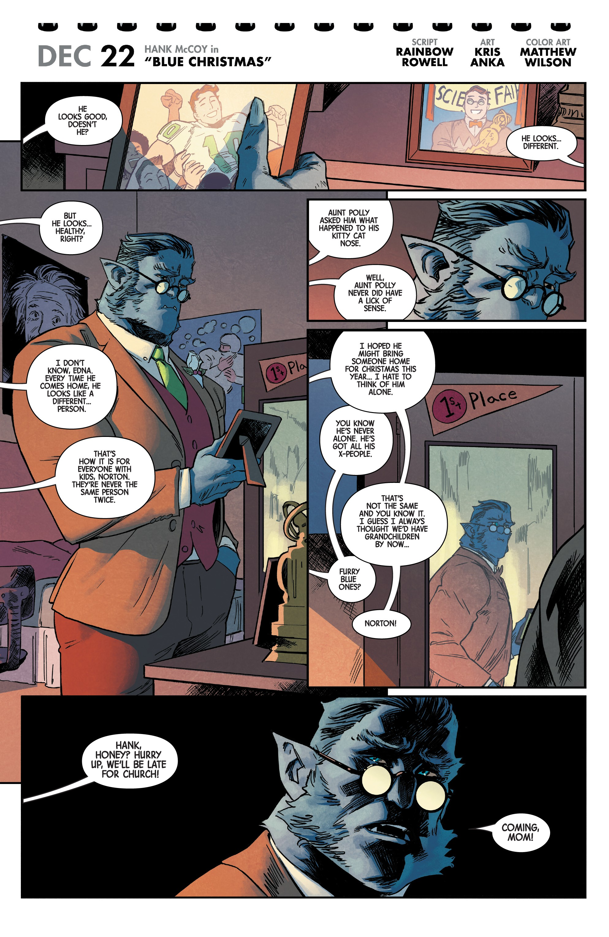 Merry X-Men Holiday Special (2018): Chapter 1 - Page Merry X-Men Holiday Special (2018)