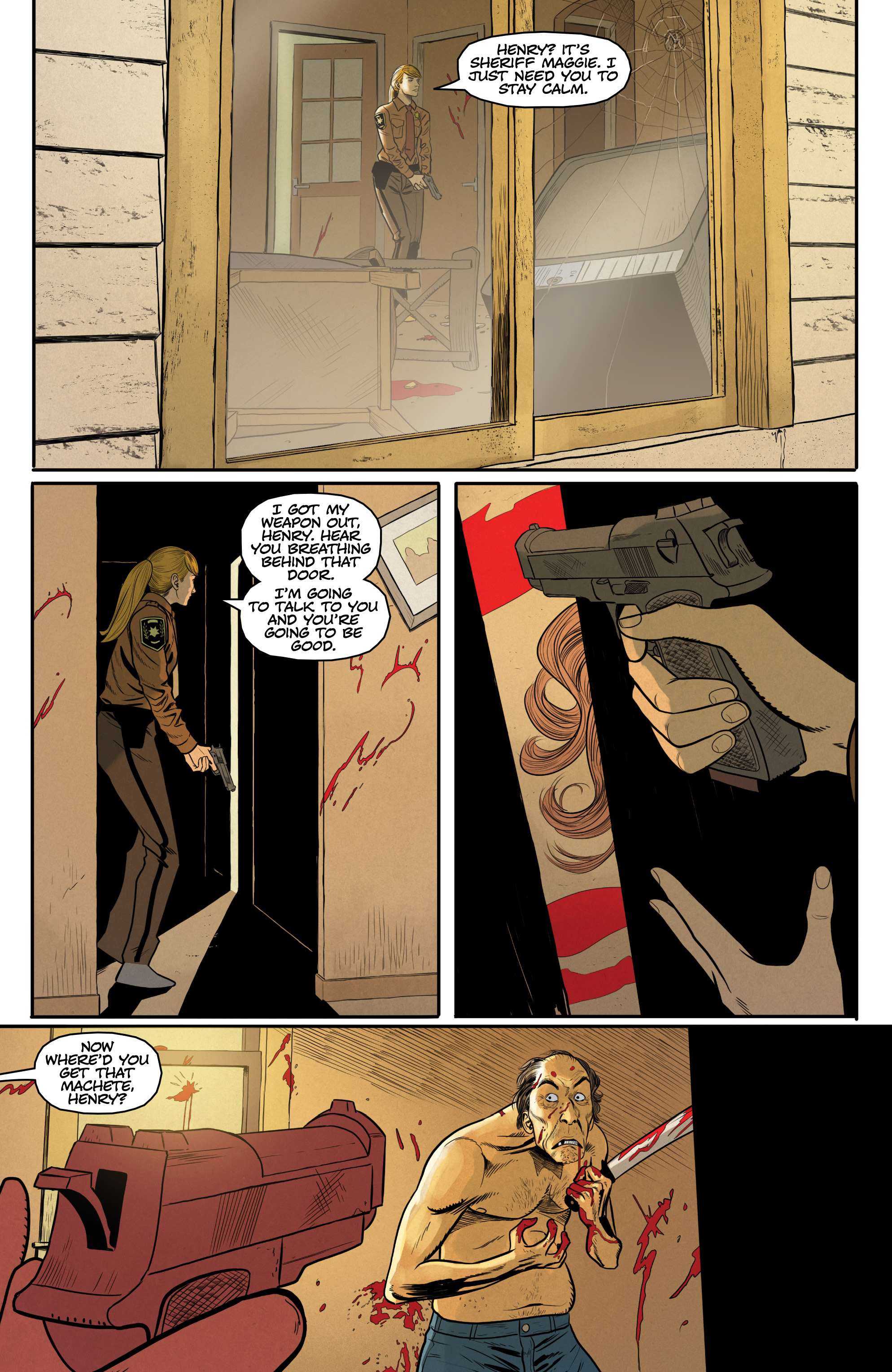 Postal: Laura (2018): Chapter 1 - Page Postal: Laura (2018)