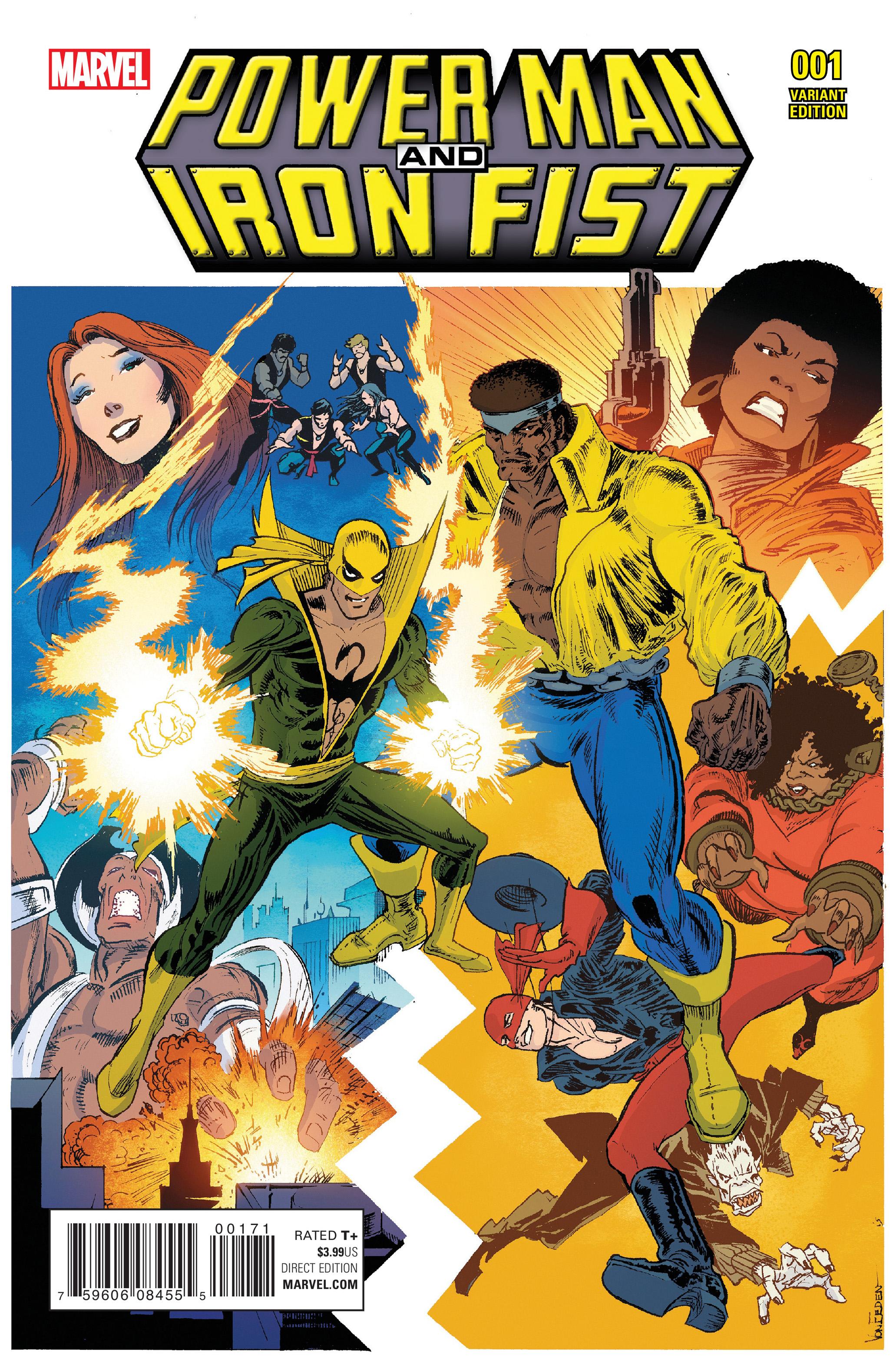 power man and iron fist comic - 650×1004