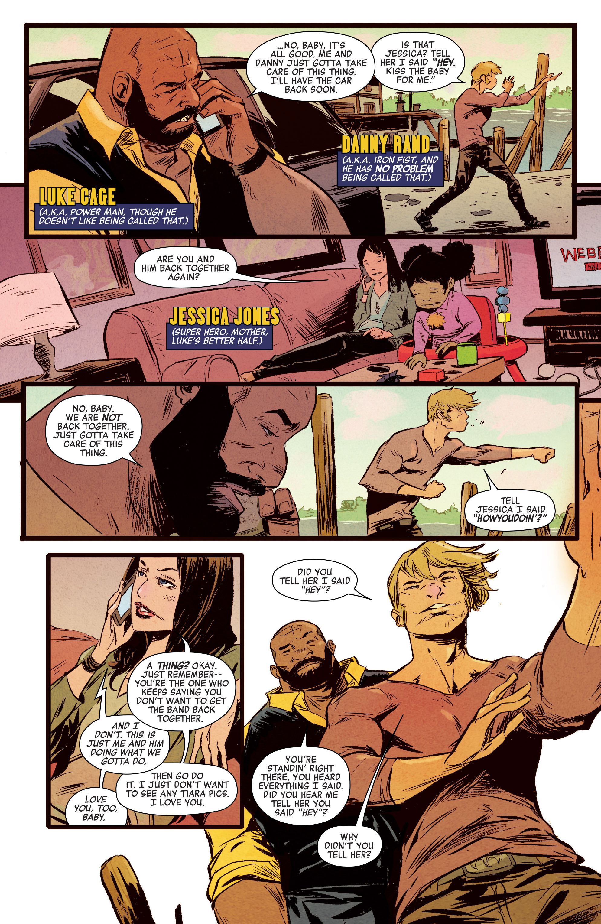 power man and iron fist comic - 676×1024