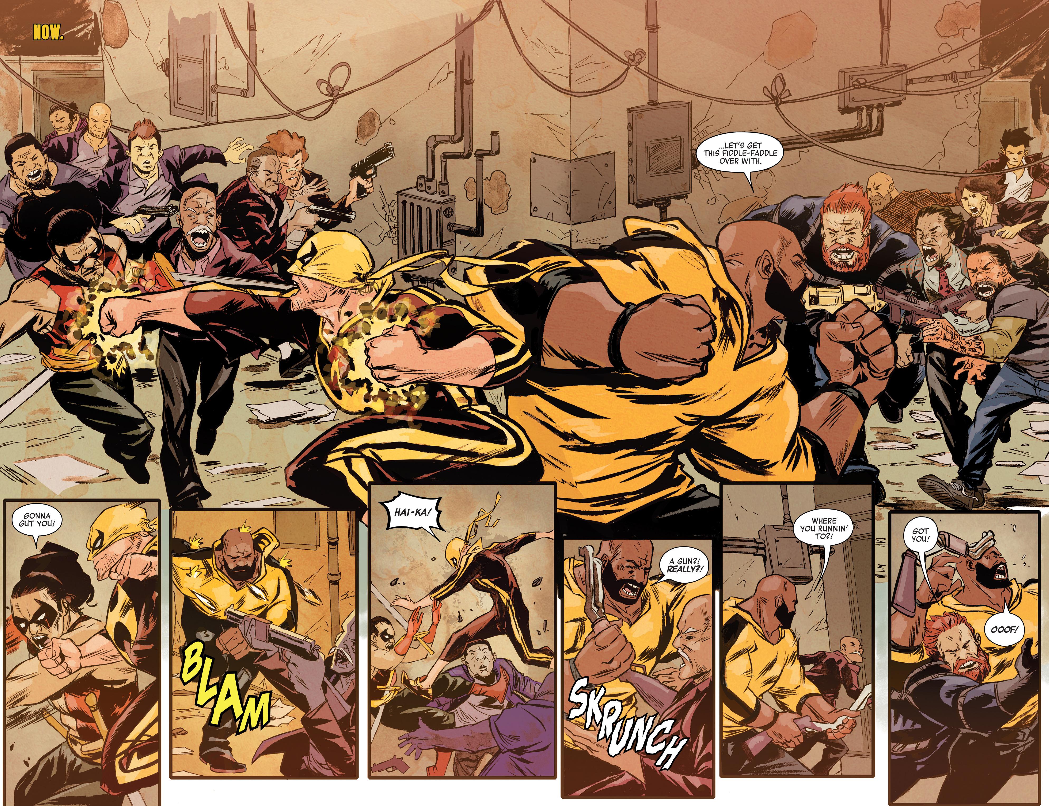 power man and iron fist comic - HD1600×1230