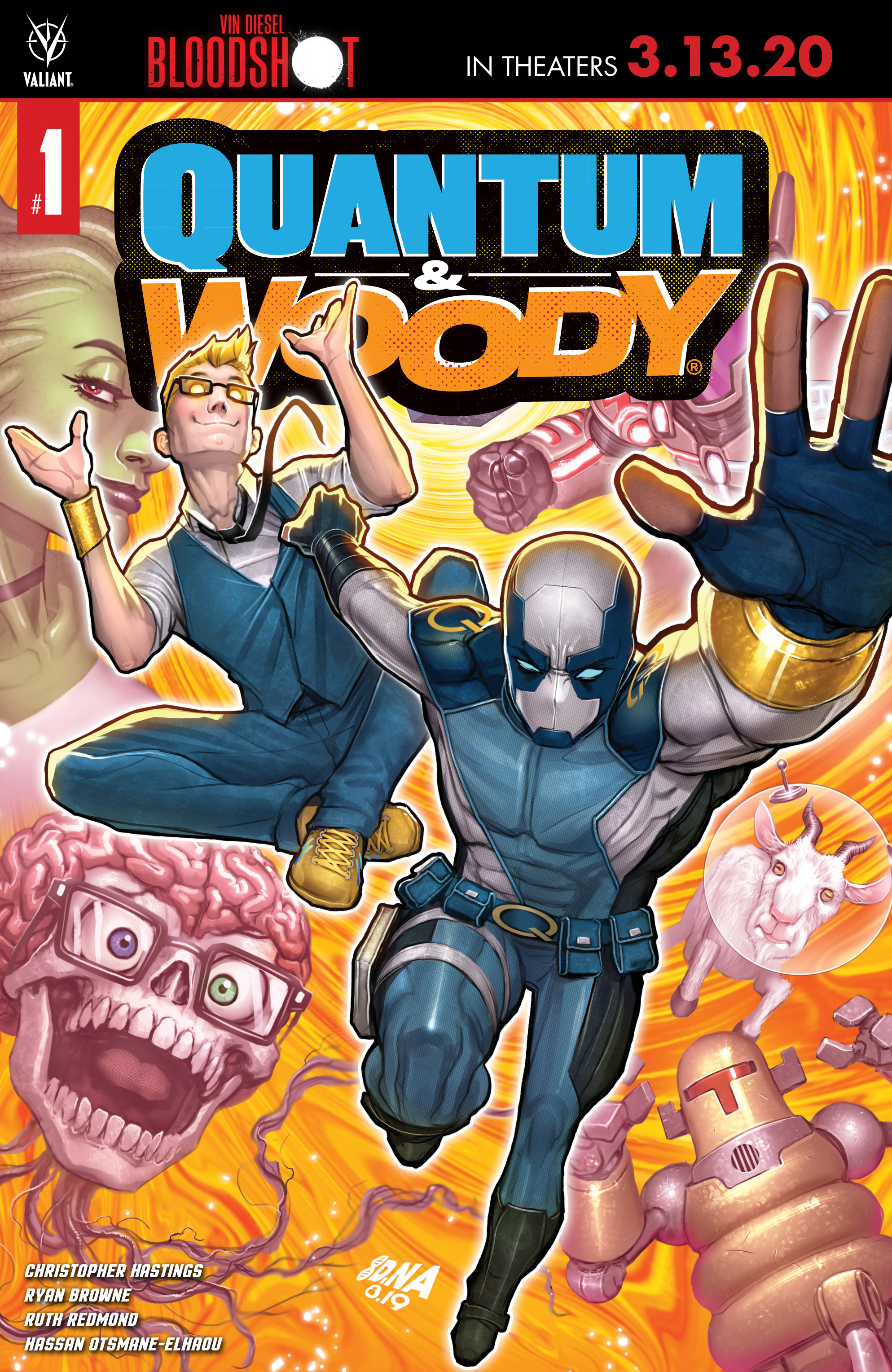 Image result for quantum and woody #1 2020