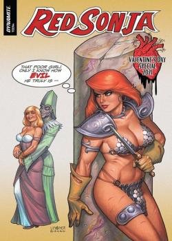 Red Sonja Valentine's Special One-Shot (2021)