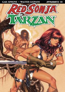 Red Sonja/Tarzan (2018-)