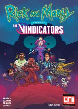 Rick et Morty présentent The Vindicators (2018)