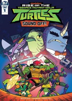 Rise of Teenage Mutant Ninja Turtles: Sound Off (2019-)