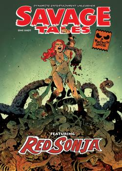 Savage Tales: A Red Sonja Halloween Special (2019)