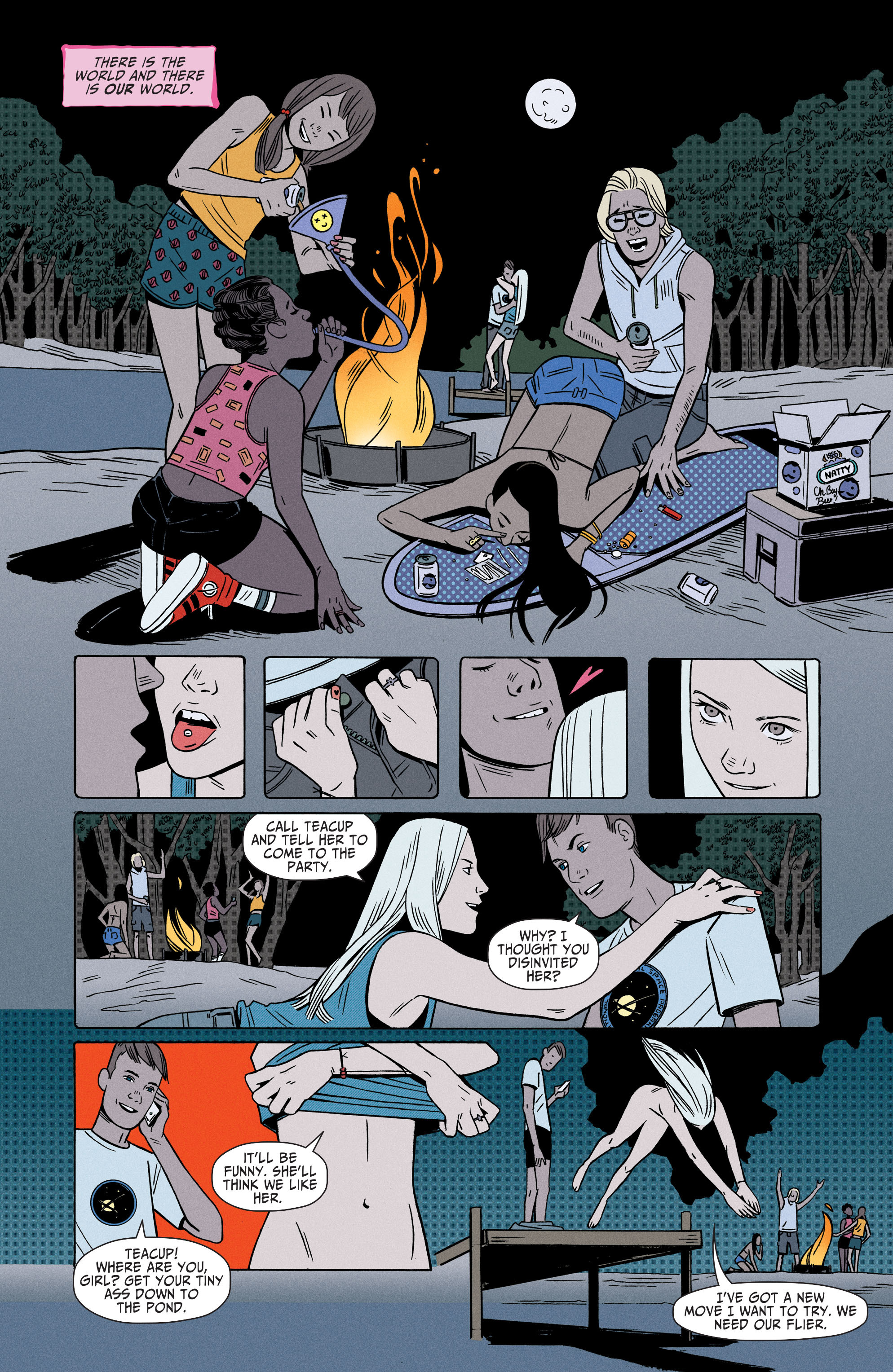 Shade,The Changing Girl(2016-): Chapter 1 - Page Shade,The Changing Girl(2016-)
