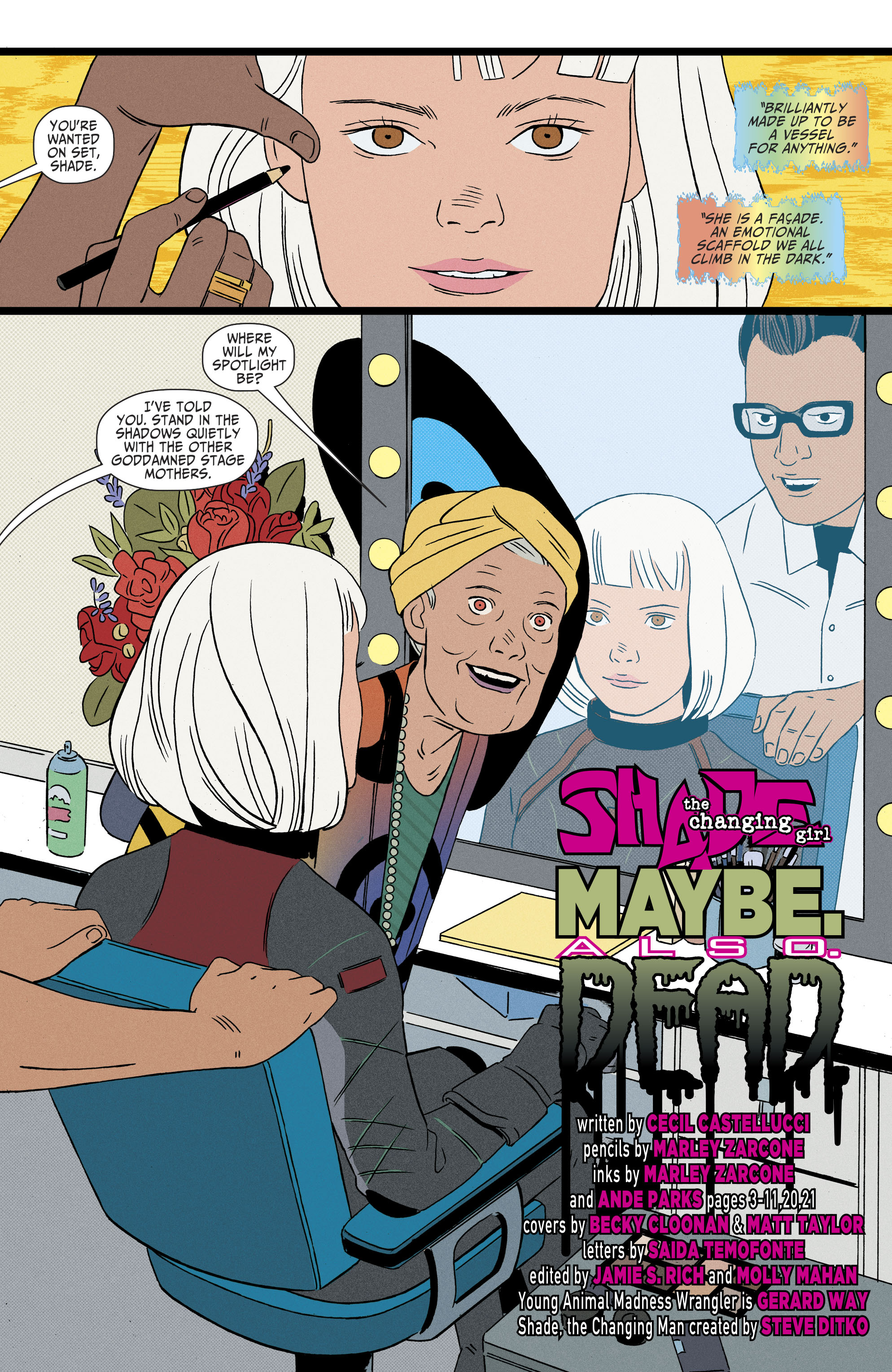Shade,The Changing Girl(2016-): Chapter 12 - Page Shade,The Changing Girl(2016-)