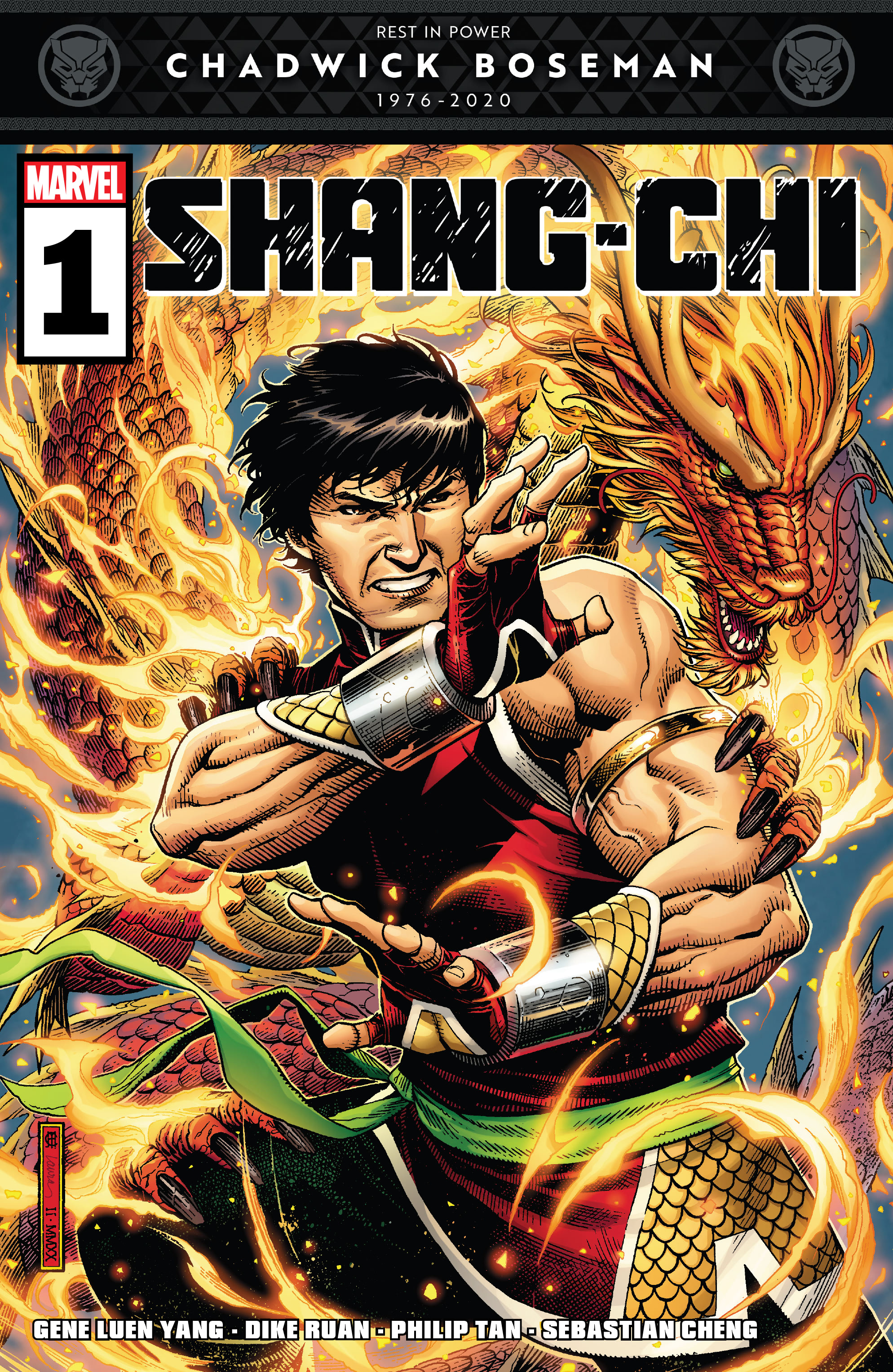 Shang Chi 2020 Chapter 1 Page 1