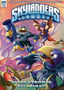 Skylanders Quarterly-Spyro & Friends: Full Blast (2017)