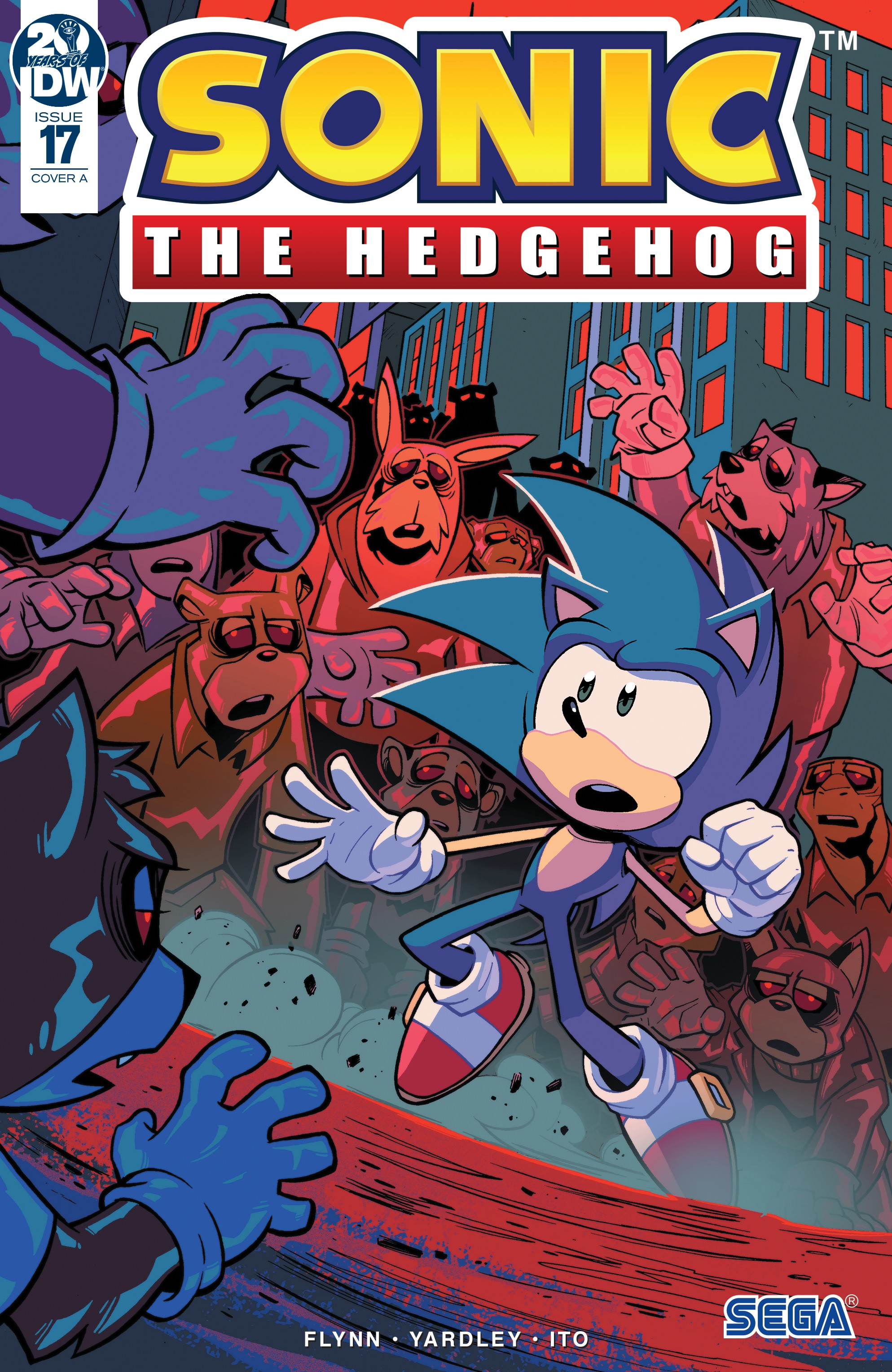 Sonic The Hedgehog (2018-): Chapter 17 - Page 1