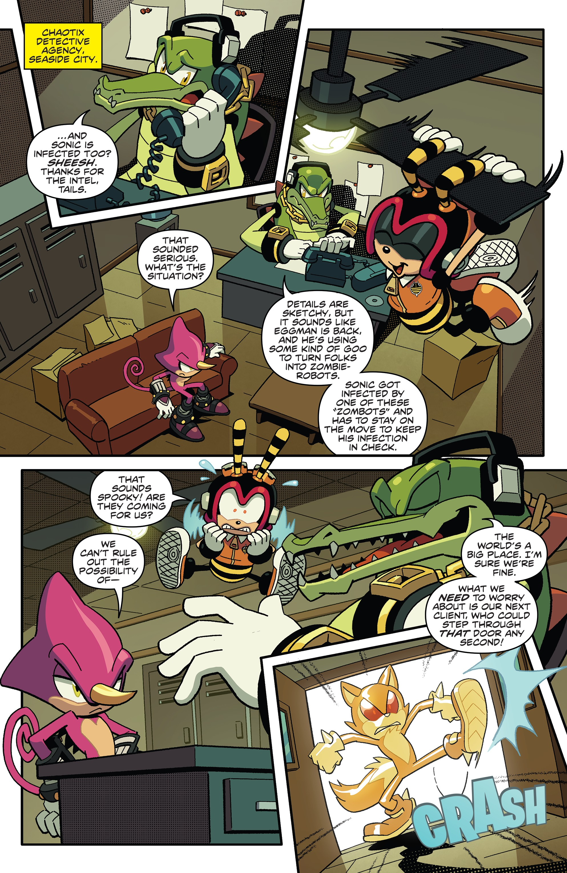 Sonic The Hedgehog 2018 Chapter 17 Page 5
