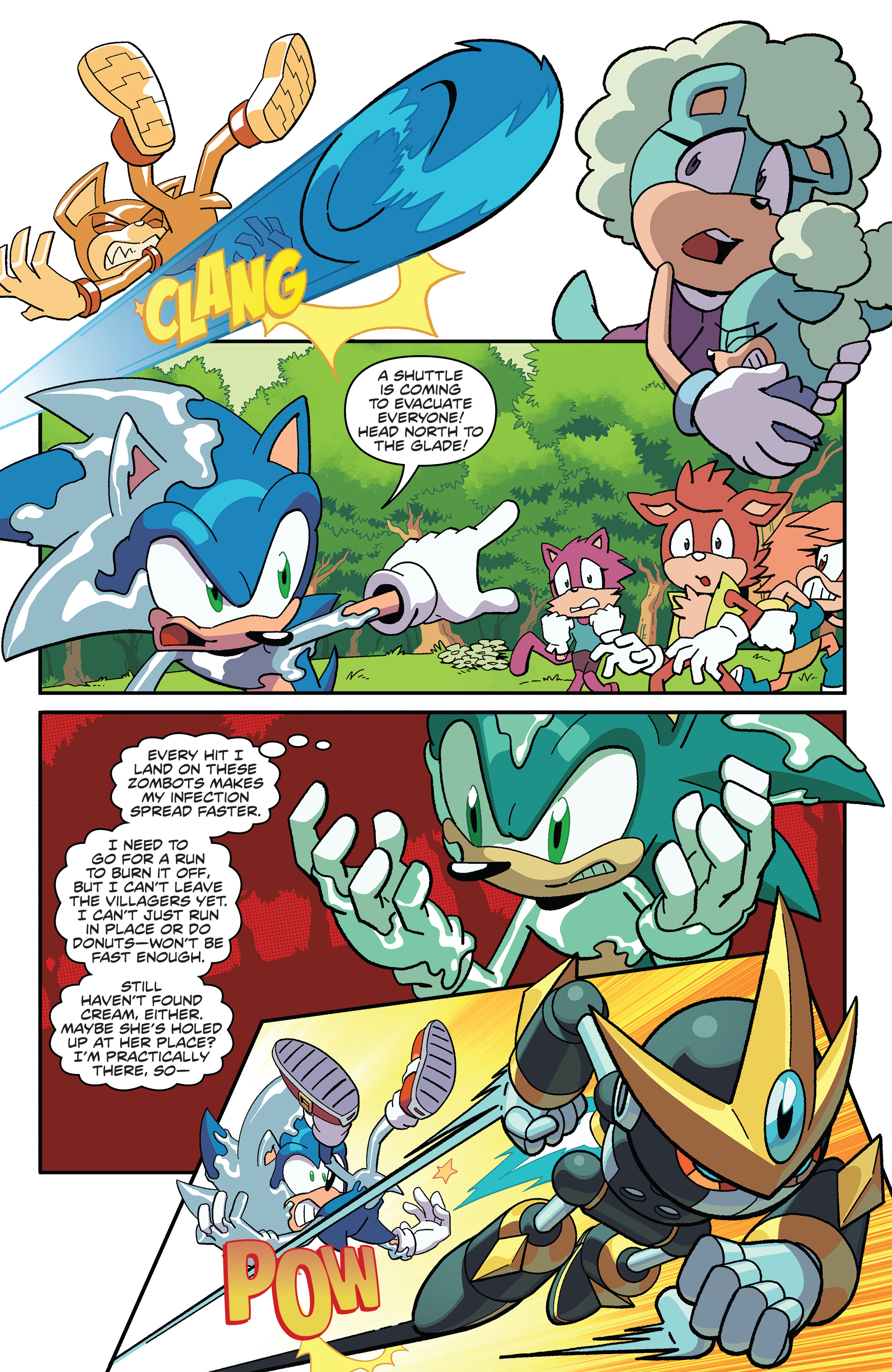 Sonic The Hedgehog 2018 Chapter 18 Page 11