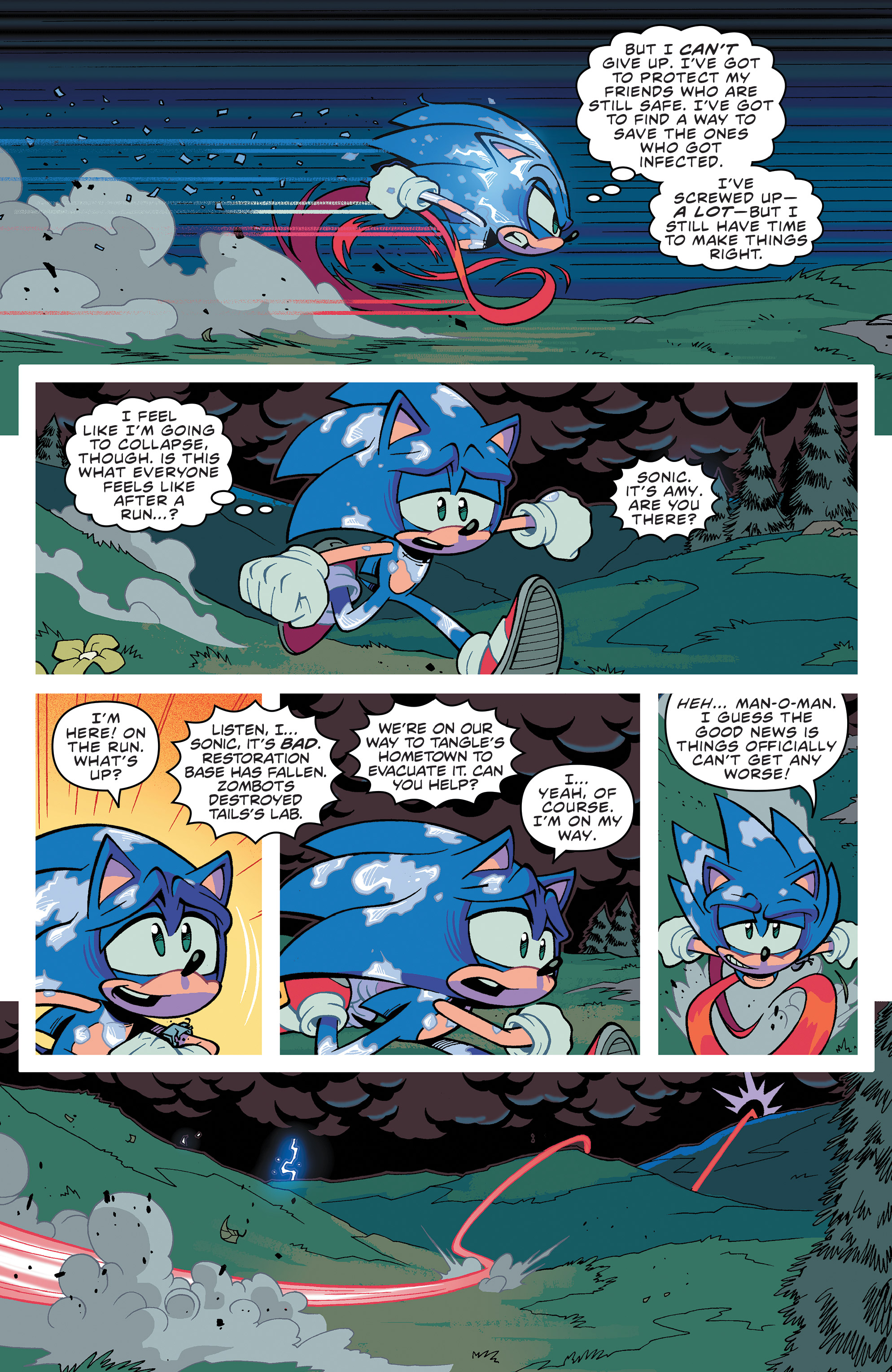 Sonic The Hedgehog 2018 Chapter 23 Page 20