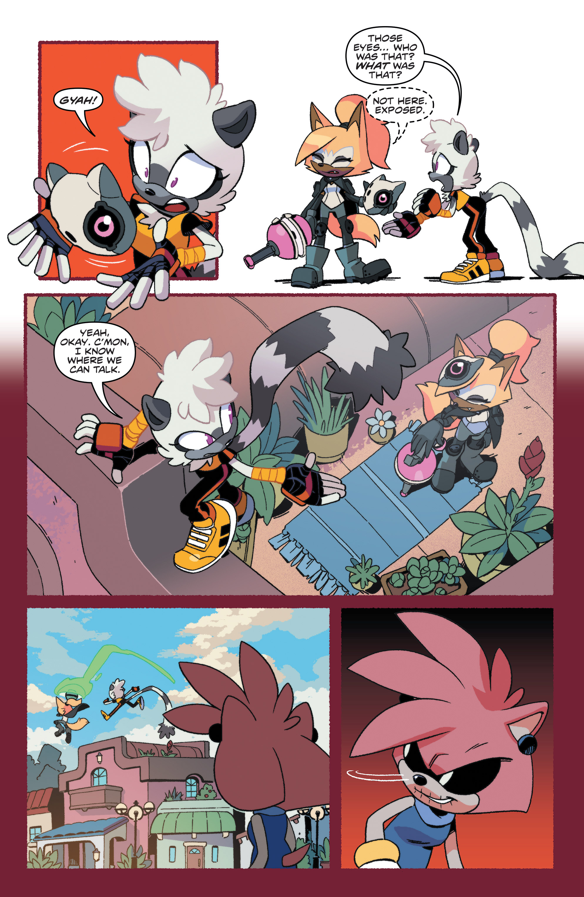 Sonic The Hedgehog Tangle Whisper 2019 Chapter 1 Page 15