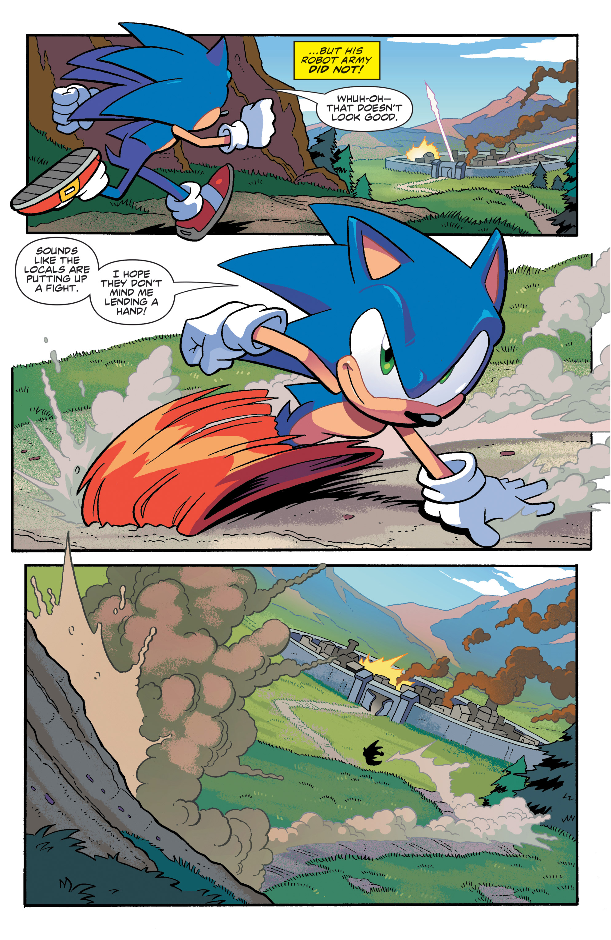 Sonic The Hedgehog Tangle Whisper 2019 Chapter 1 Page 26
