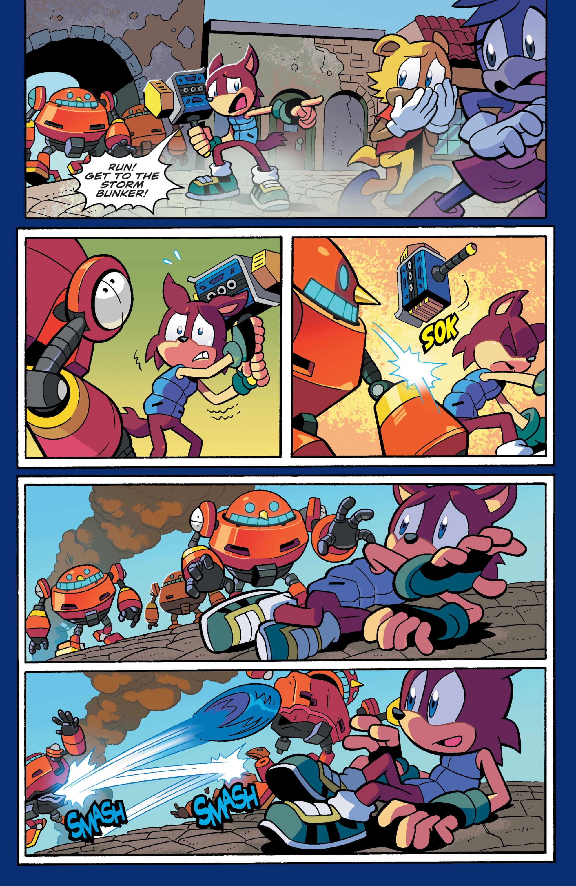 Sonic The Hedgehog Tangle Whisper 2019 Chapter 1 Page 27