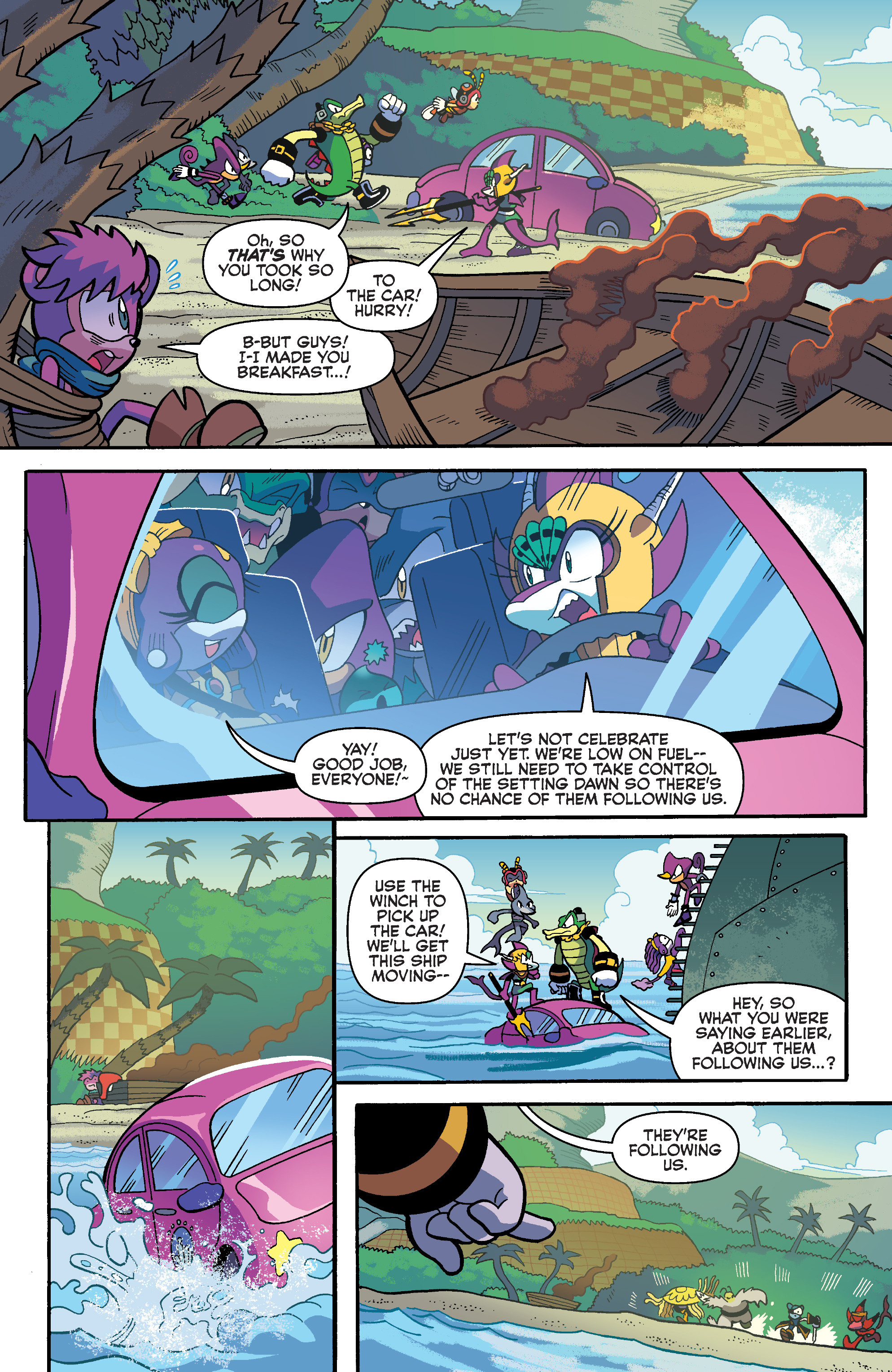 Sonic Universe(2009-): Chapter 94 - Page Sonic Universe(2009-)