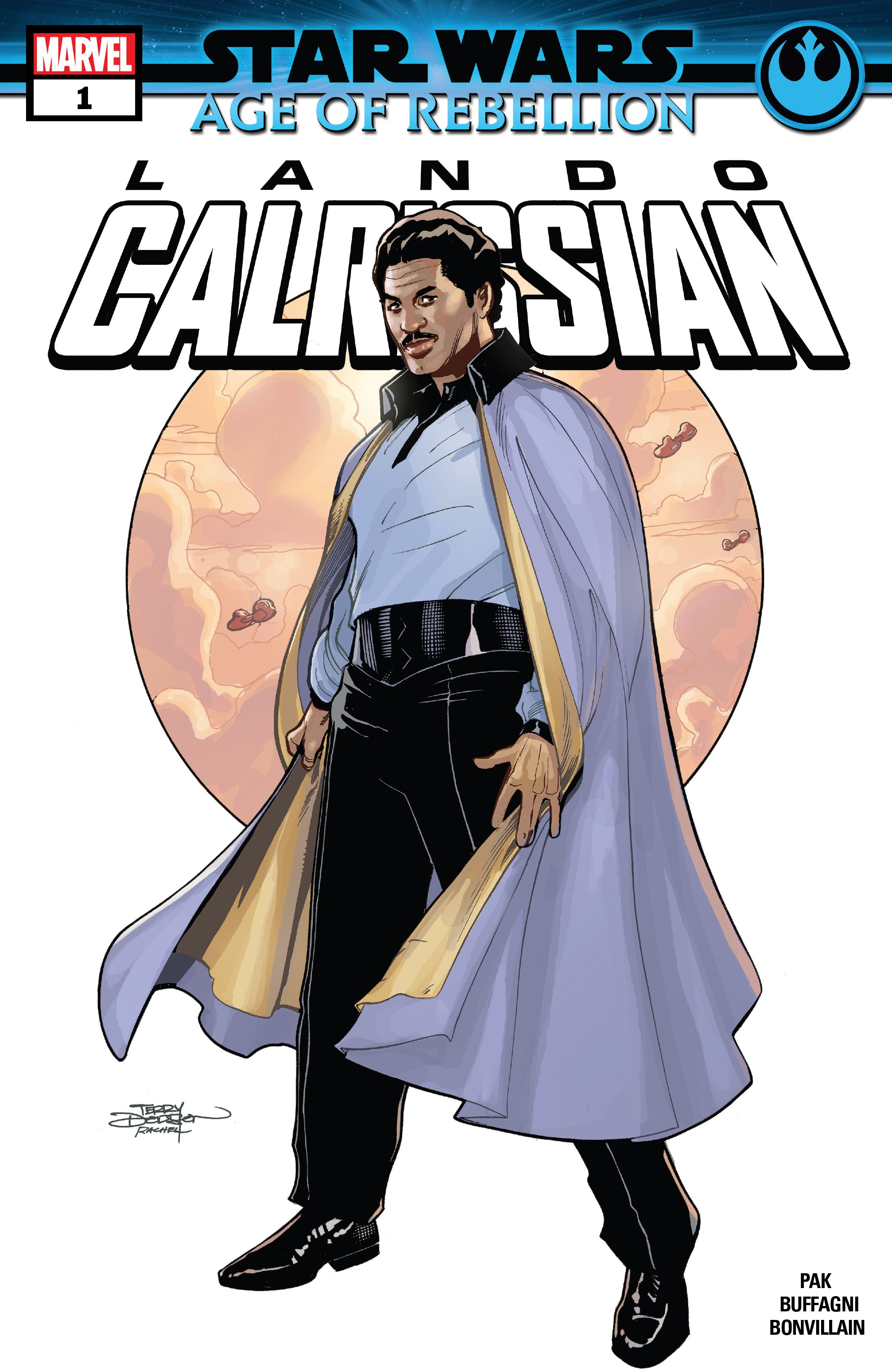 Star Wars: Age Of Rebellion - Lando Calrissian (2019): Chapter 1 - Page 1