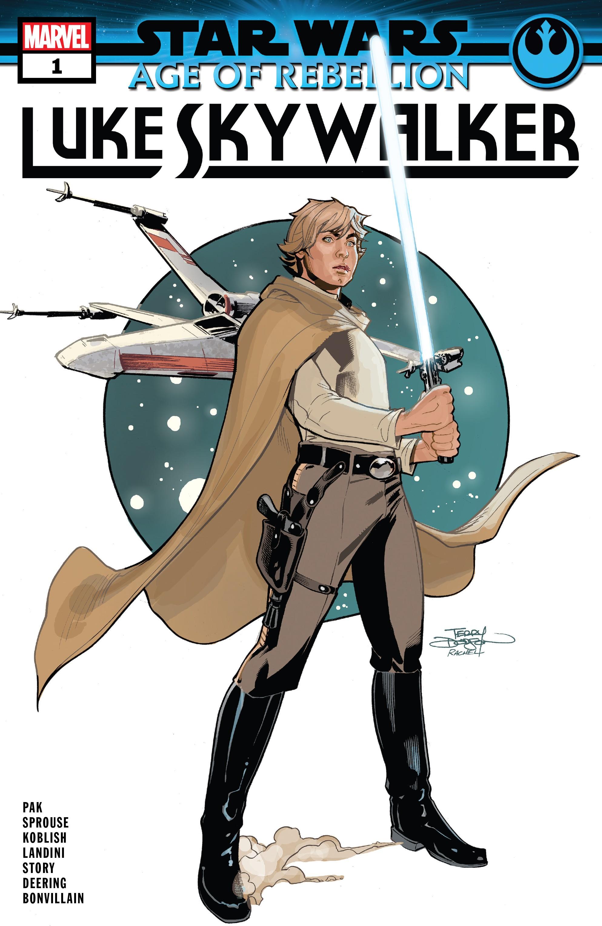 Star Wars: Age Of Rebellion - Luke Skywalker (2019): Chapter 1 - Page 1