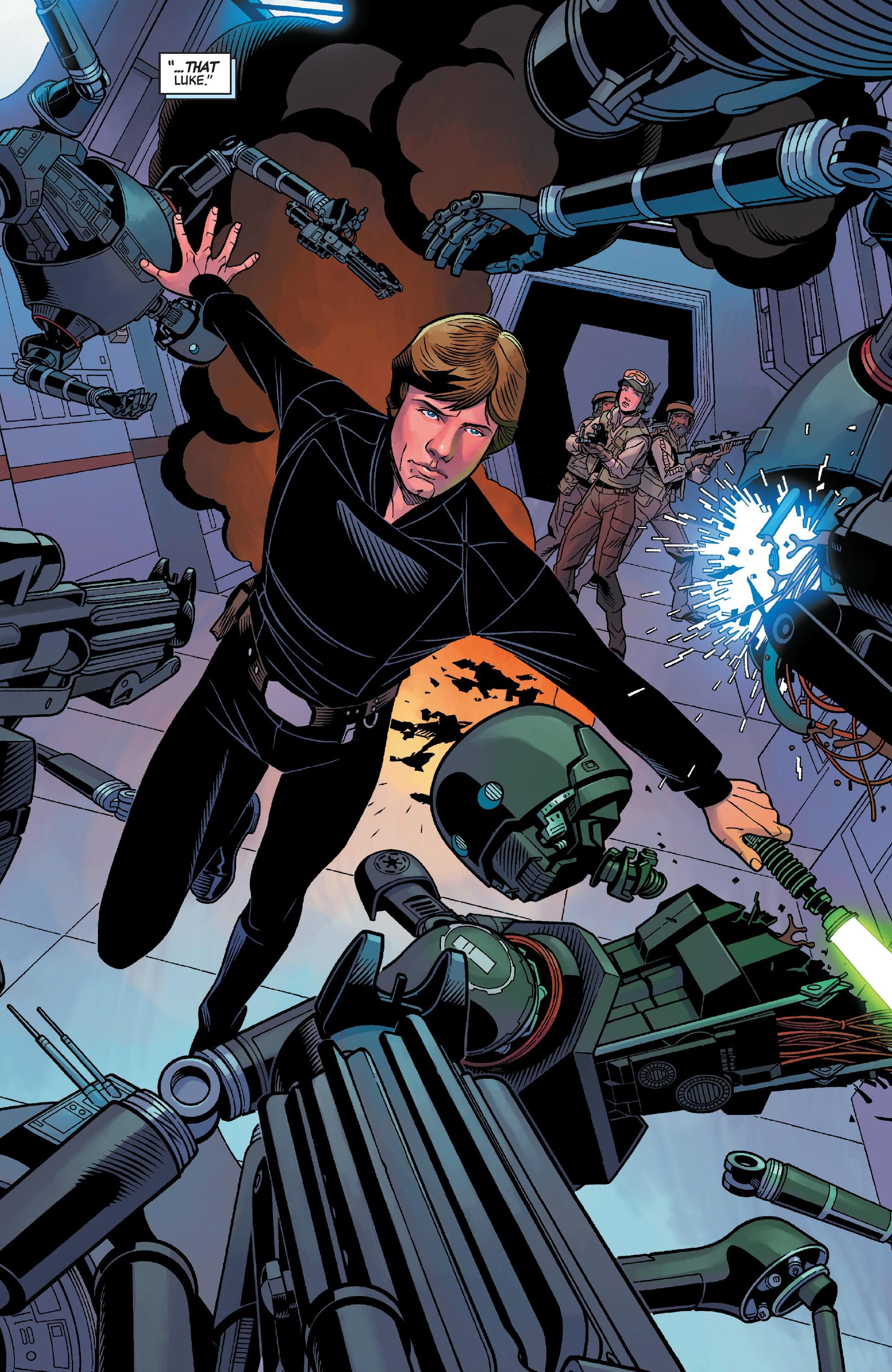 Star Wars: Age Of Rebellion - Luke Skywalker (2019): Chapter 1 - Page 4