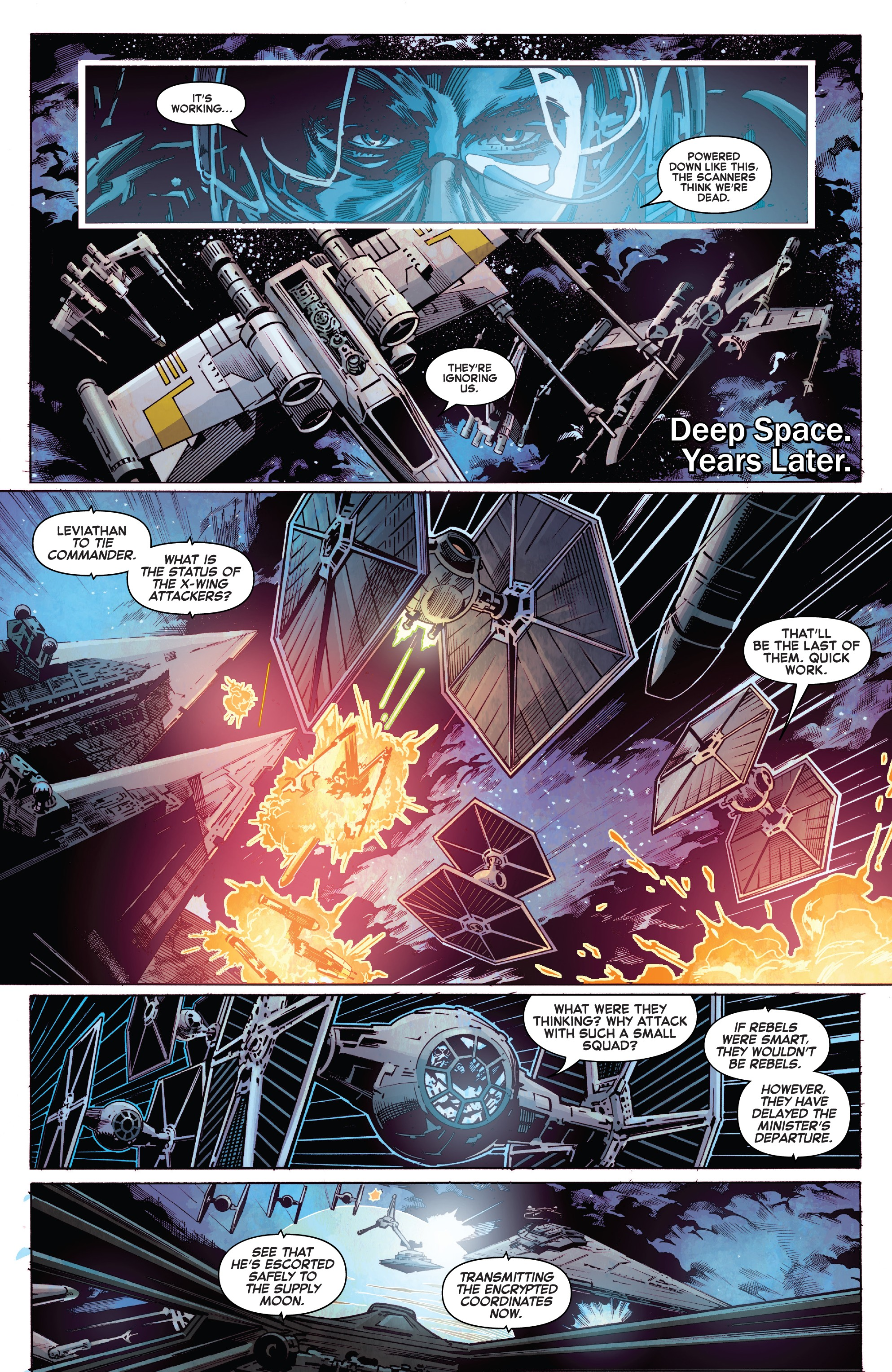 Star Wars: Vader - Dark Visions (2019): Chapter 4 - Page 5