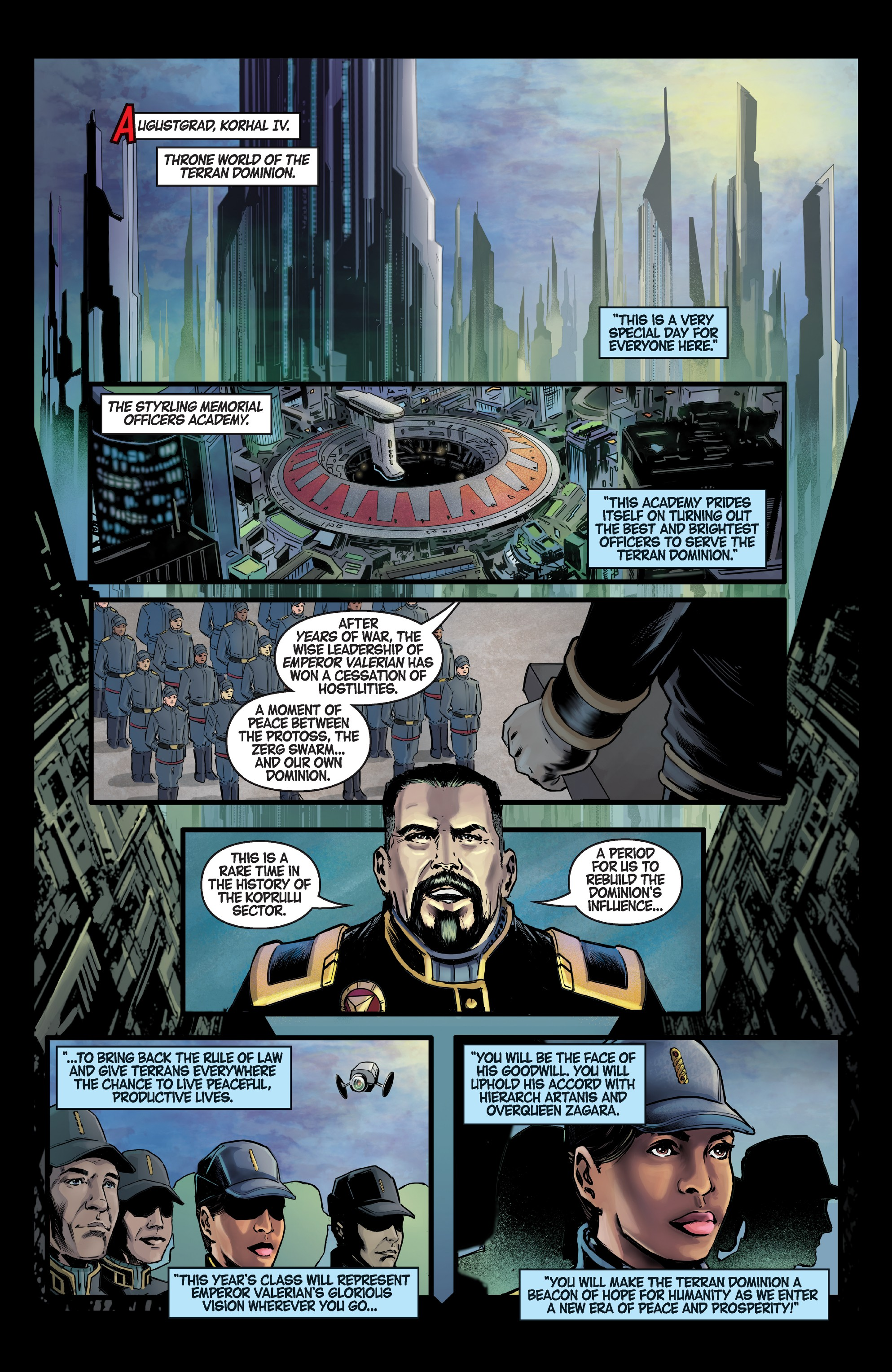 StarCraft: Soldiers (2019-) Chapter 1 - Page 3