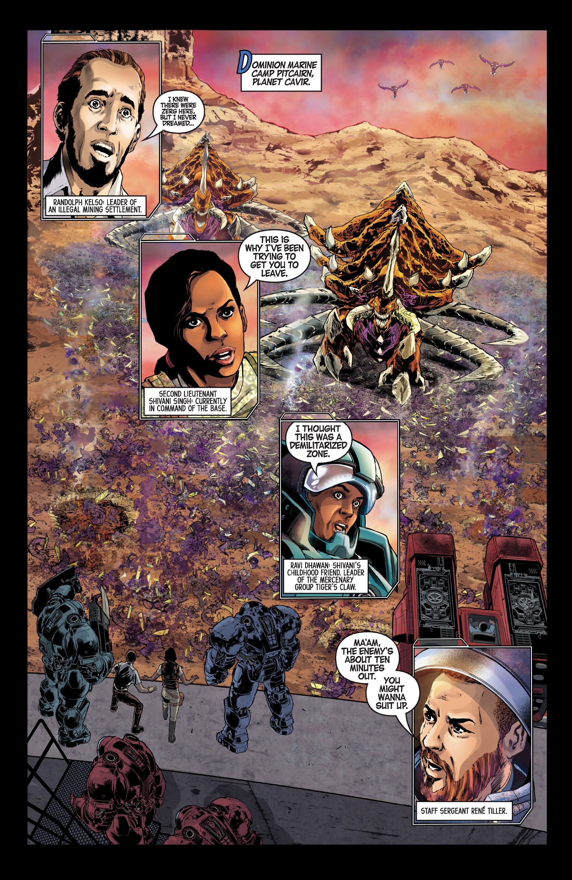 StarCraft: Soldiers (2019-) Chapter 4 - Page 3
