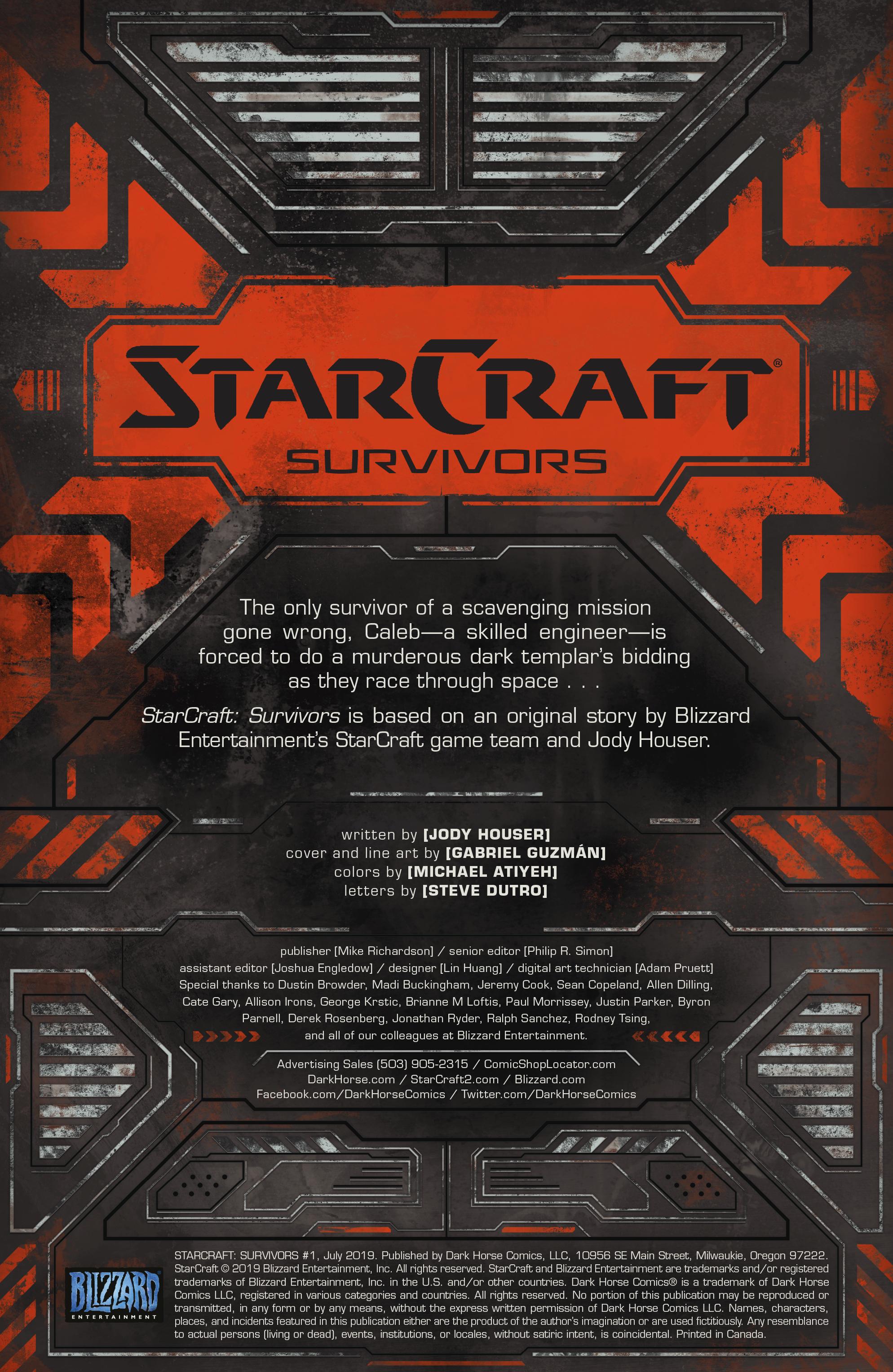 StarCraft Survivors 2019 Chapter 1 Page 2