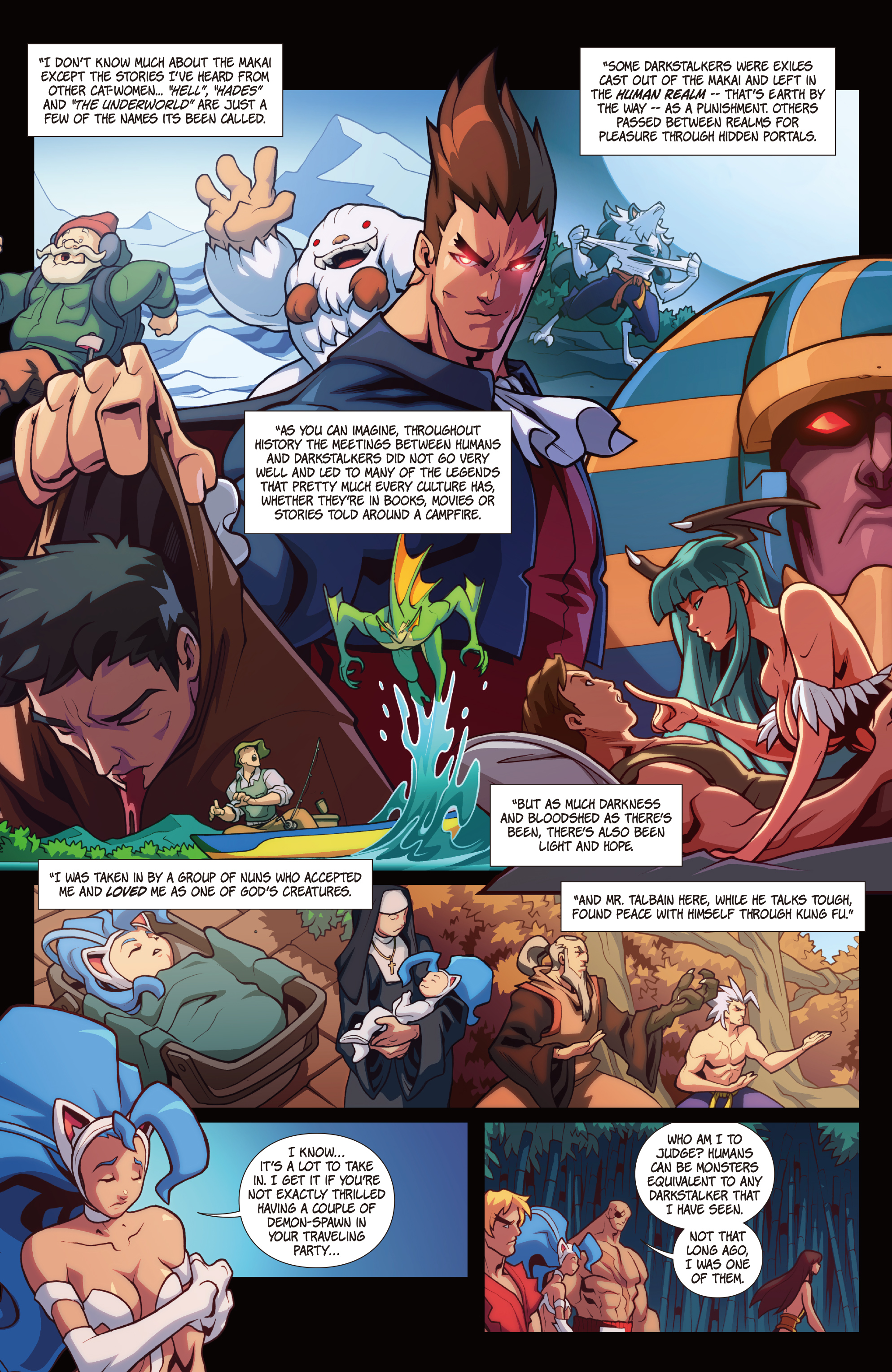 Street Fighter Vs Darkstalkers 2017 Chapter 2 Page 9