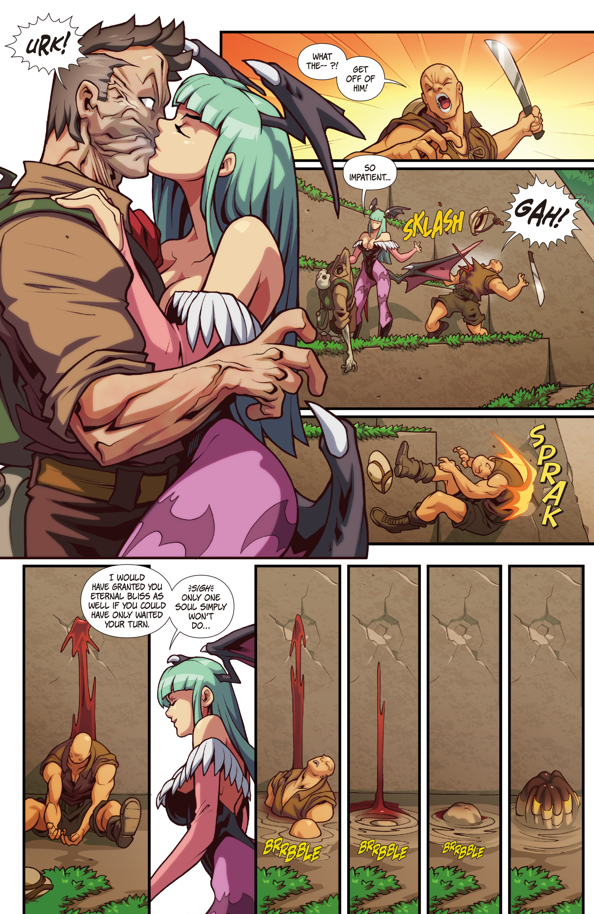 Street Fighter Vs Darkstalkers 2017 Chapter 3 Page 8