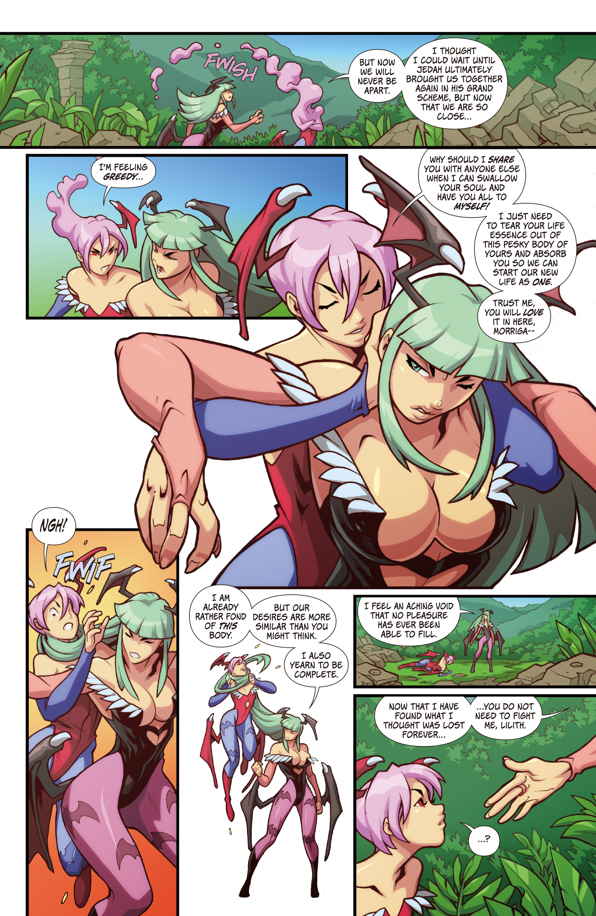 Street Fighter Vs Darkstalkers 2017 Chapter 3 Page 14