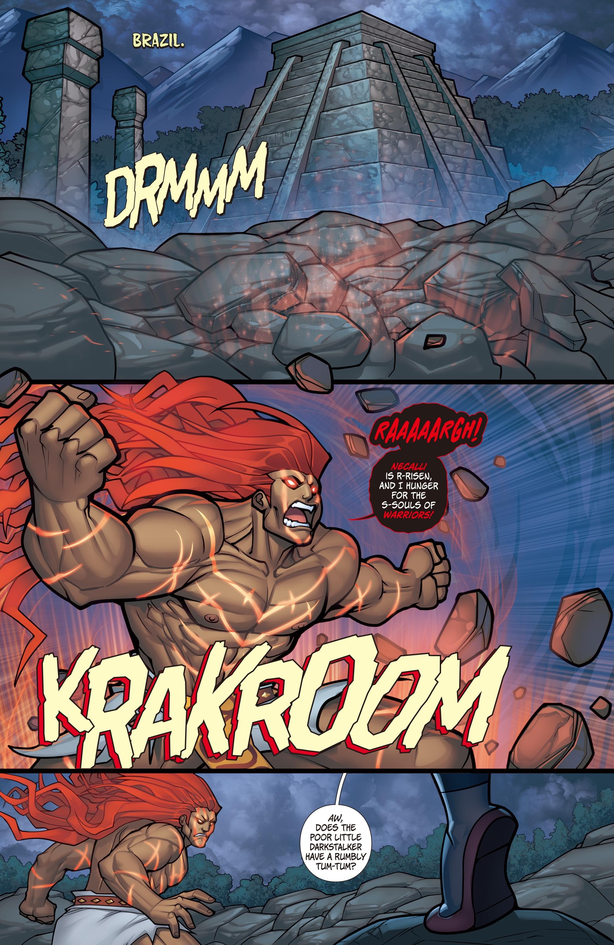 Street Fighter VS Darkstalkers (2017) Chapter 6 - Page 21