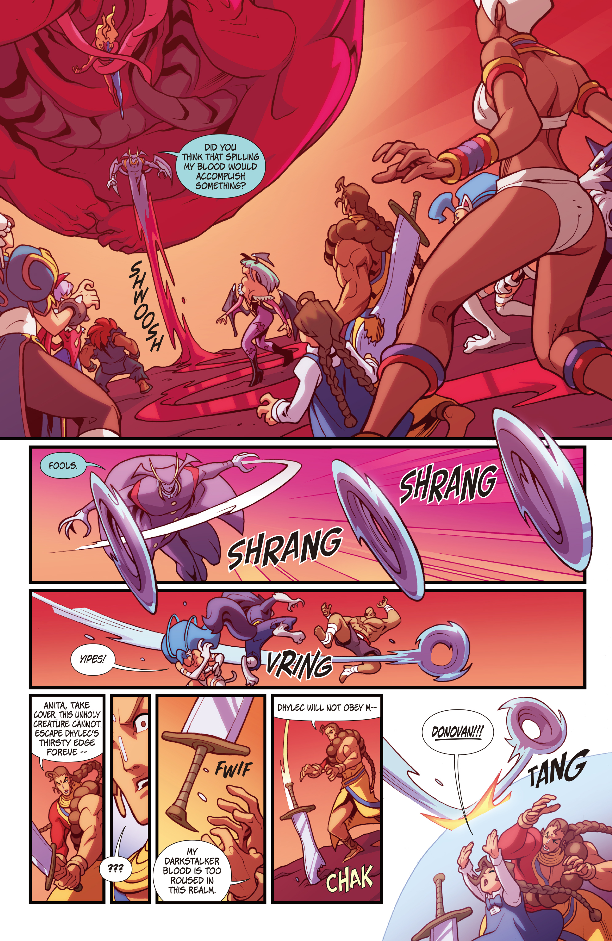 Street Fighter Vs Darkstalkers 2017 Chapter 8 Page 7