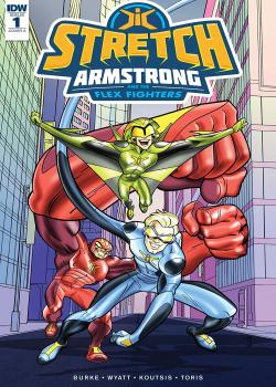 Stretch Armstrong and the Flex Fighters (2018)