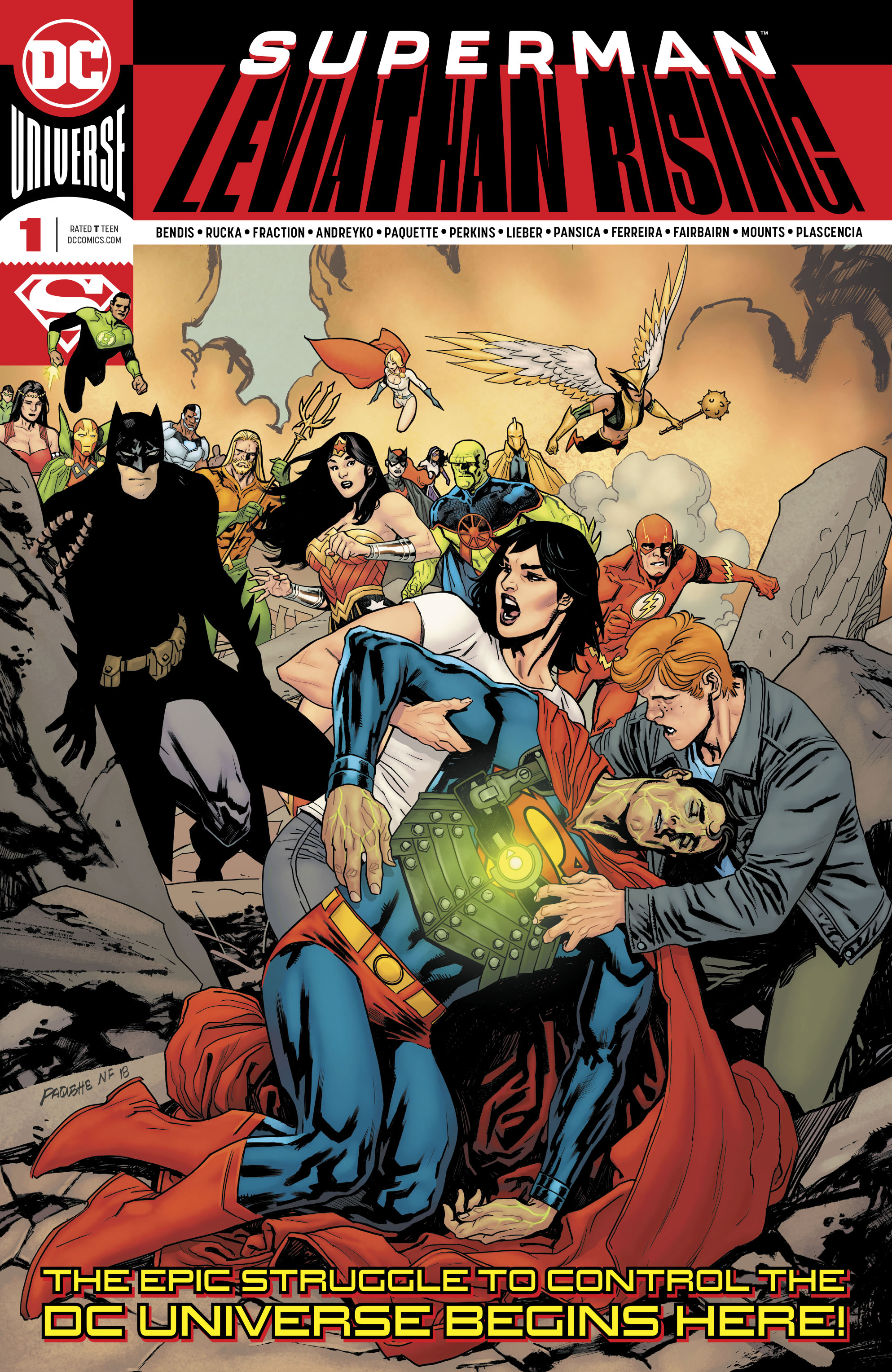 Superman: Leviathan Rising Special (2019-): Chapter 1 - Page 1