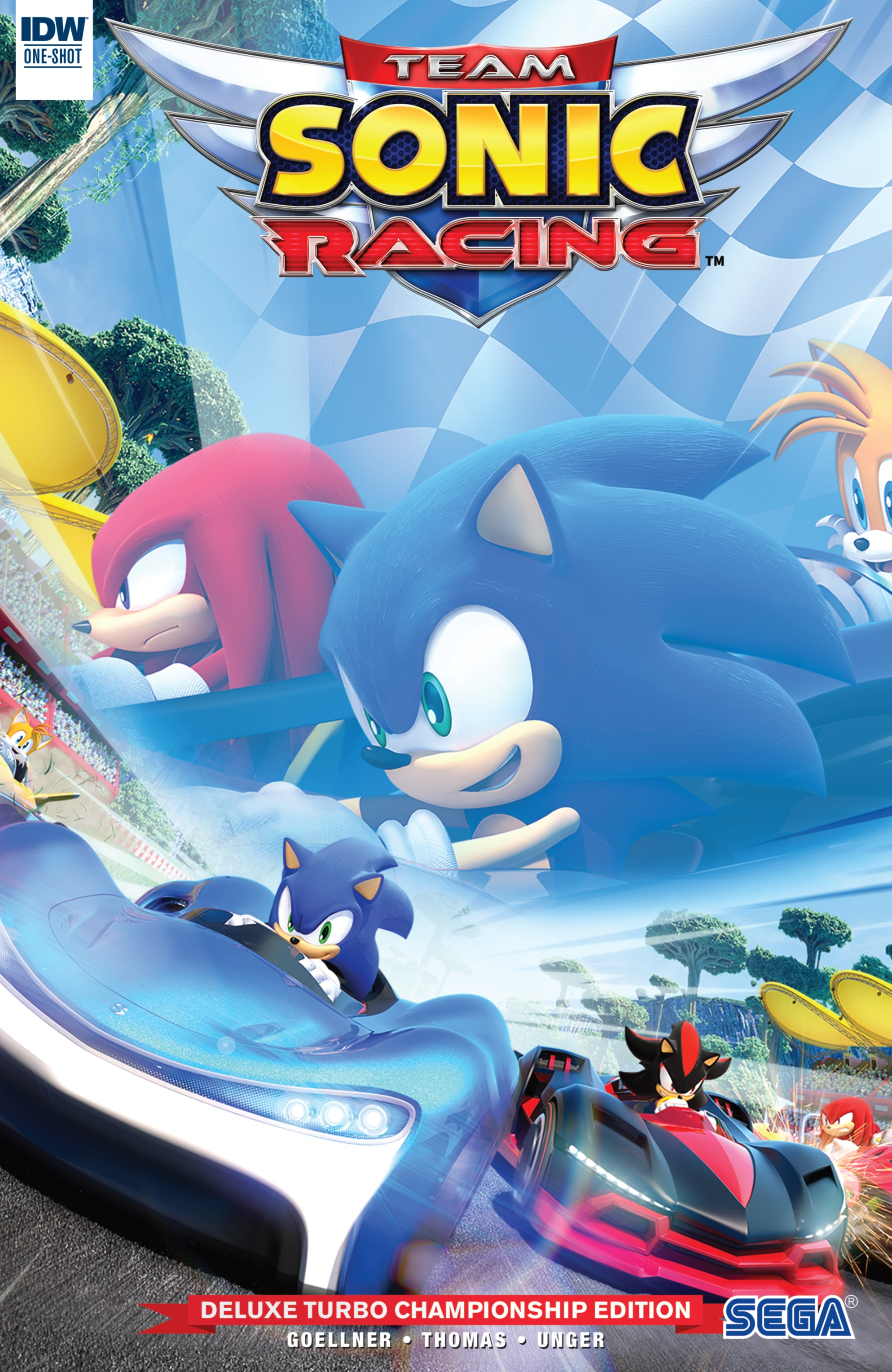 Team Sonic Racing Plus Deluxe Turbo Championship Edition (2019): Chapter 1 - Page 1