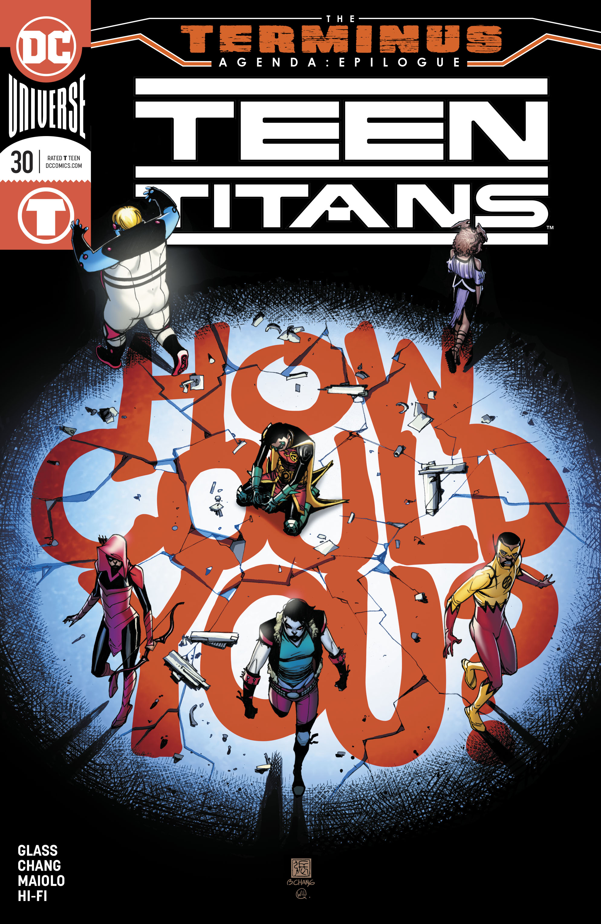 Teen Titans (2016-): Chapter 30 - Page 1