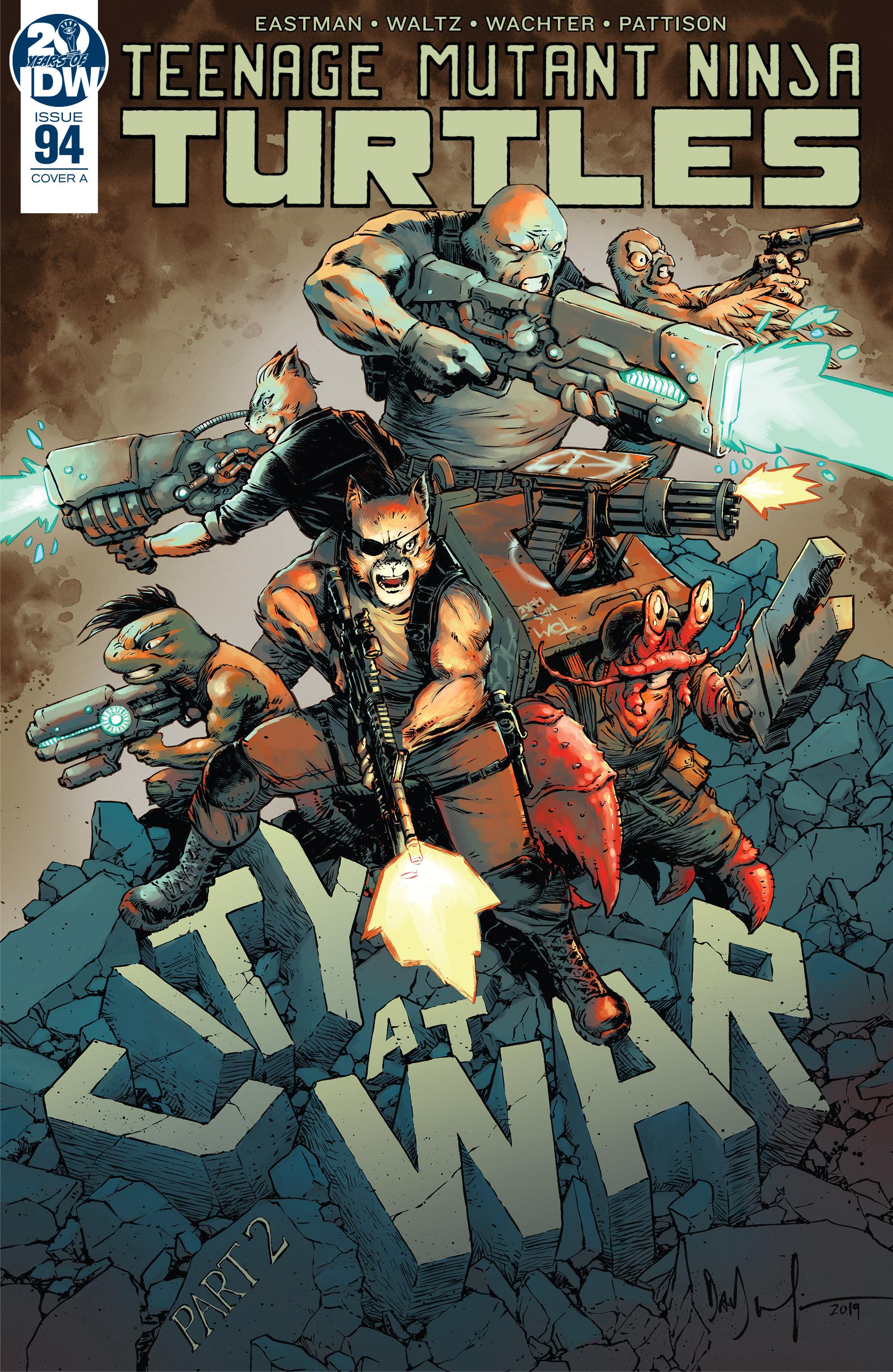 Teenage Mutant Ninja Turtles (2011-): Chapter 94 - Page 1