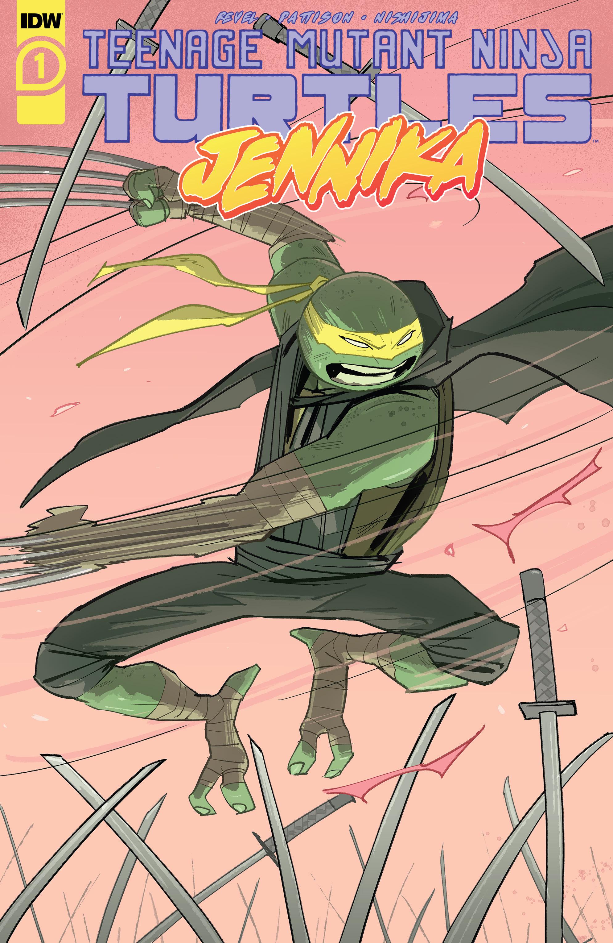 Teenage Mutant Ninja Turtles Jennika 2020 Chapter 1 Page 1