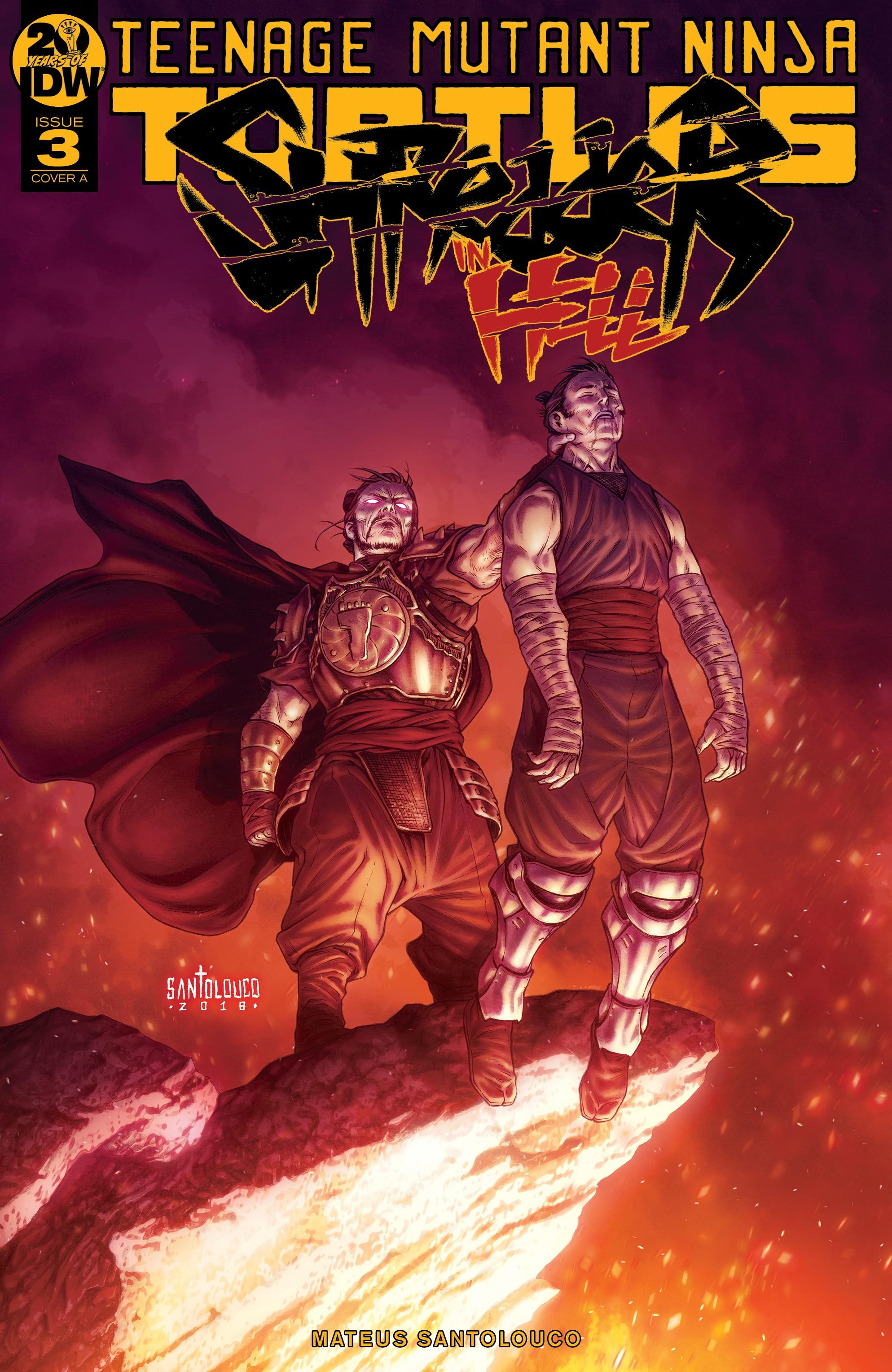 Teenage Mutant Ninja Turtles: Shredder in Hell (2019-): Chapter 3 - Page 1