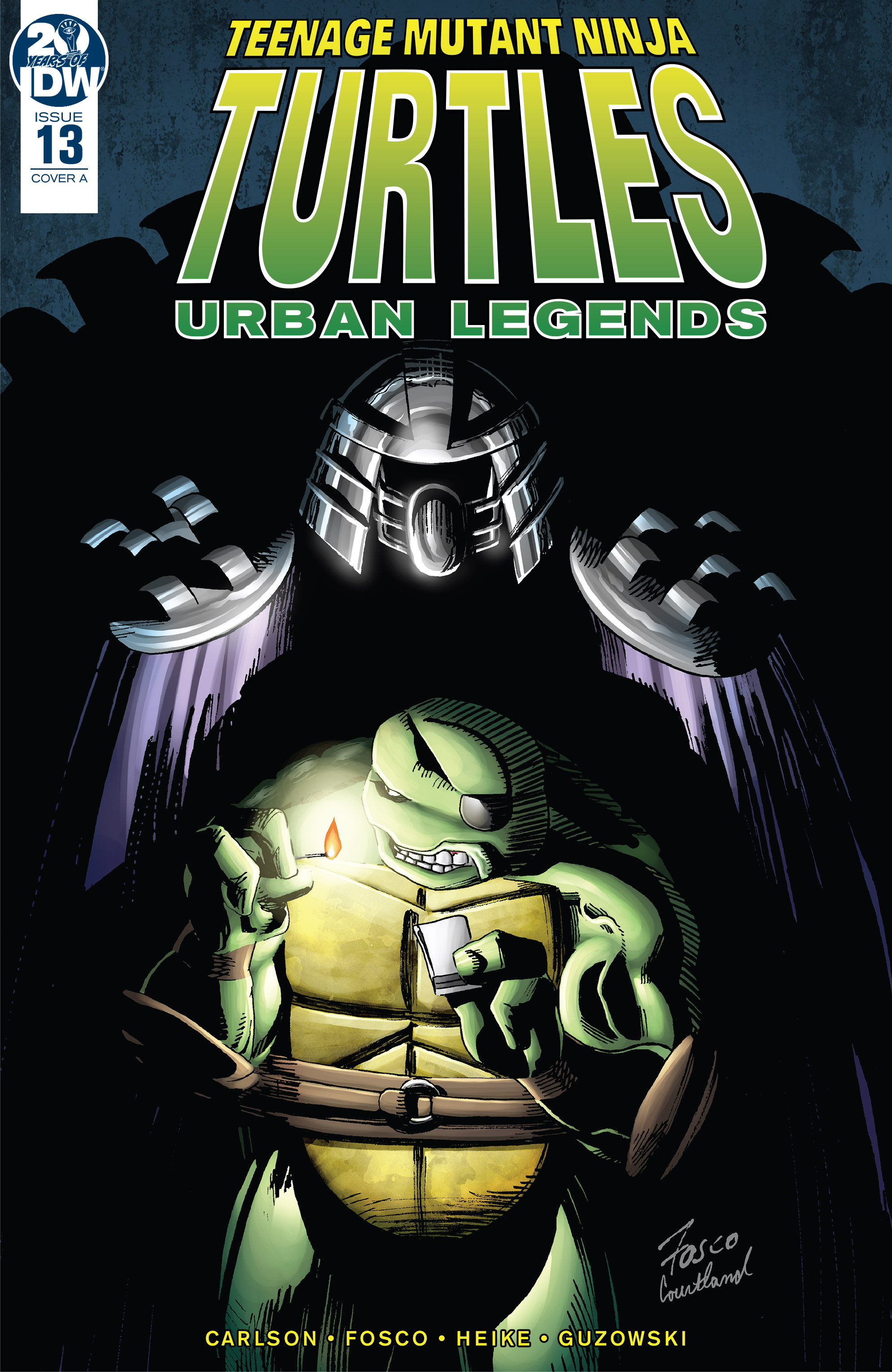 Teenage Mutant Ninja Turtles: Urban Legends (2018-): Chapter 13 - Page 1