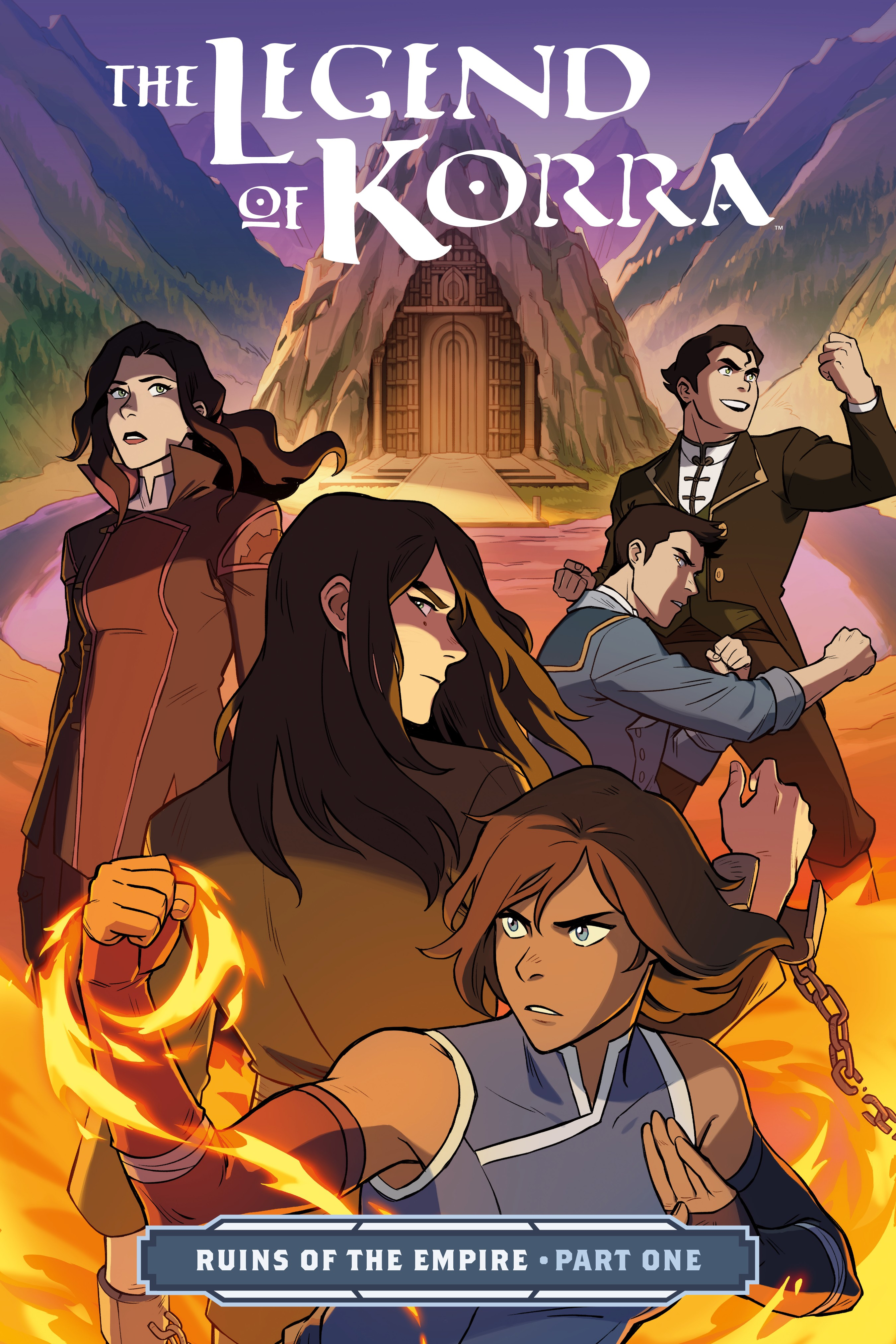 The Legend of Korra: Ruins of the Empire (2019-) Chapter 1 - Page 1
