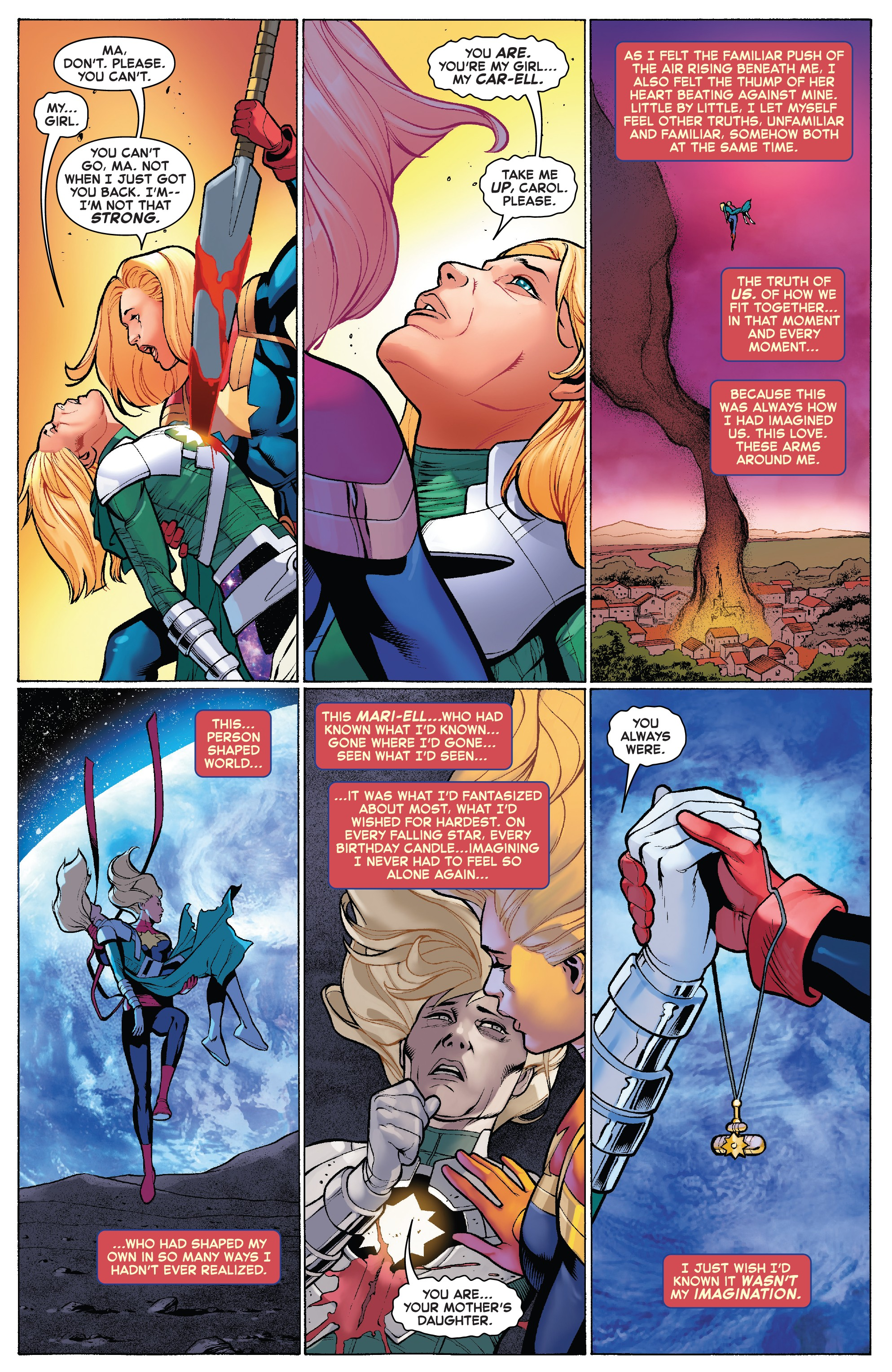 scans_daily | the life of captain marvel #5