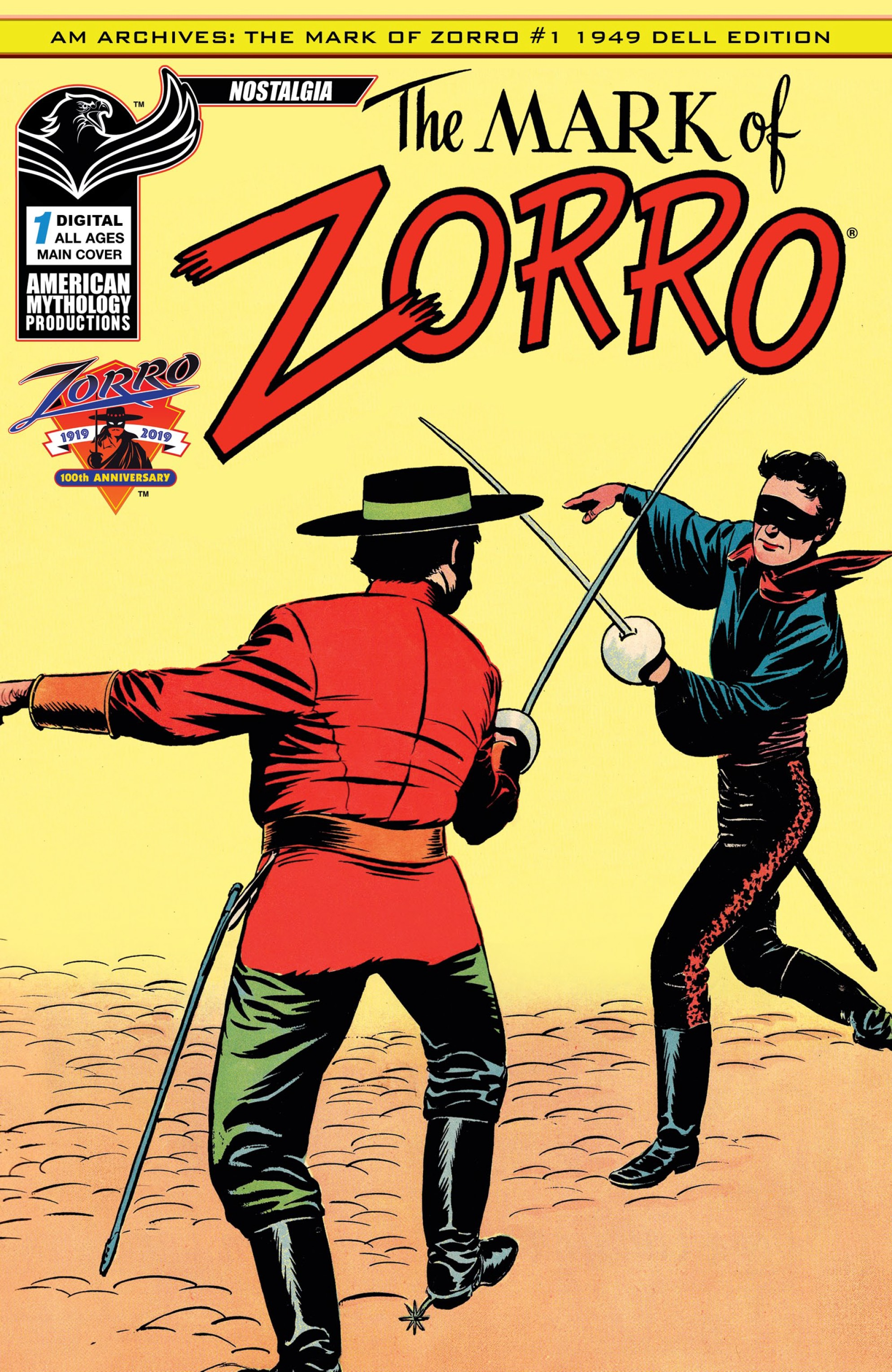 The Mark of Zorro (2019): Chapter 1 - Page 1