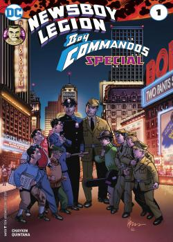The Newsboy Legion and the Boy Commandos Special (2017-)