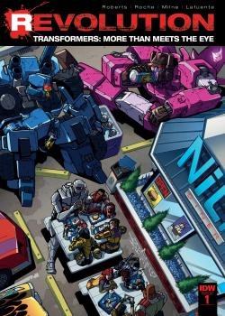 Transformers - More Than Meets the Eye: Revolution (2016)