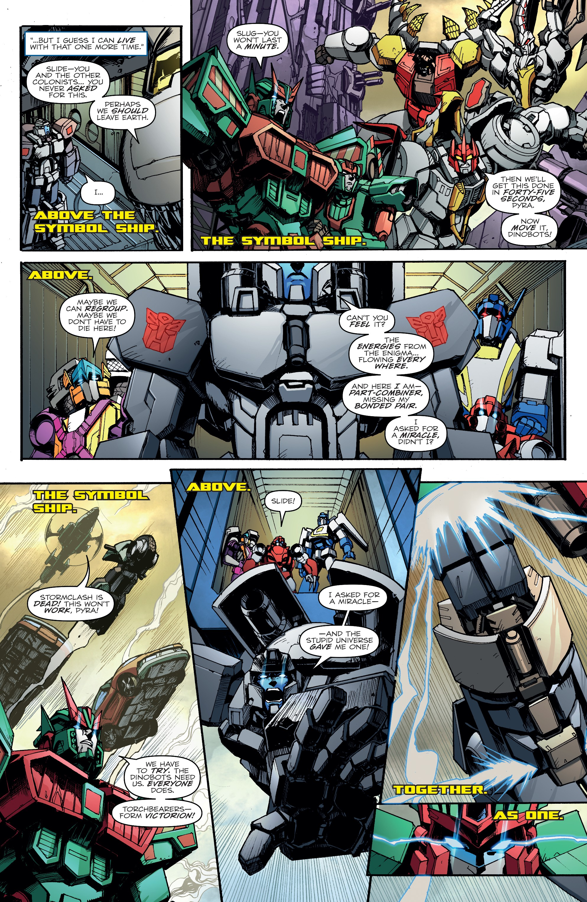 Transformers: Unicron (2018-) Chapter 6 - Page 25